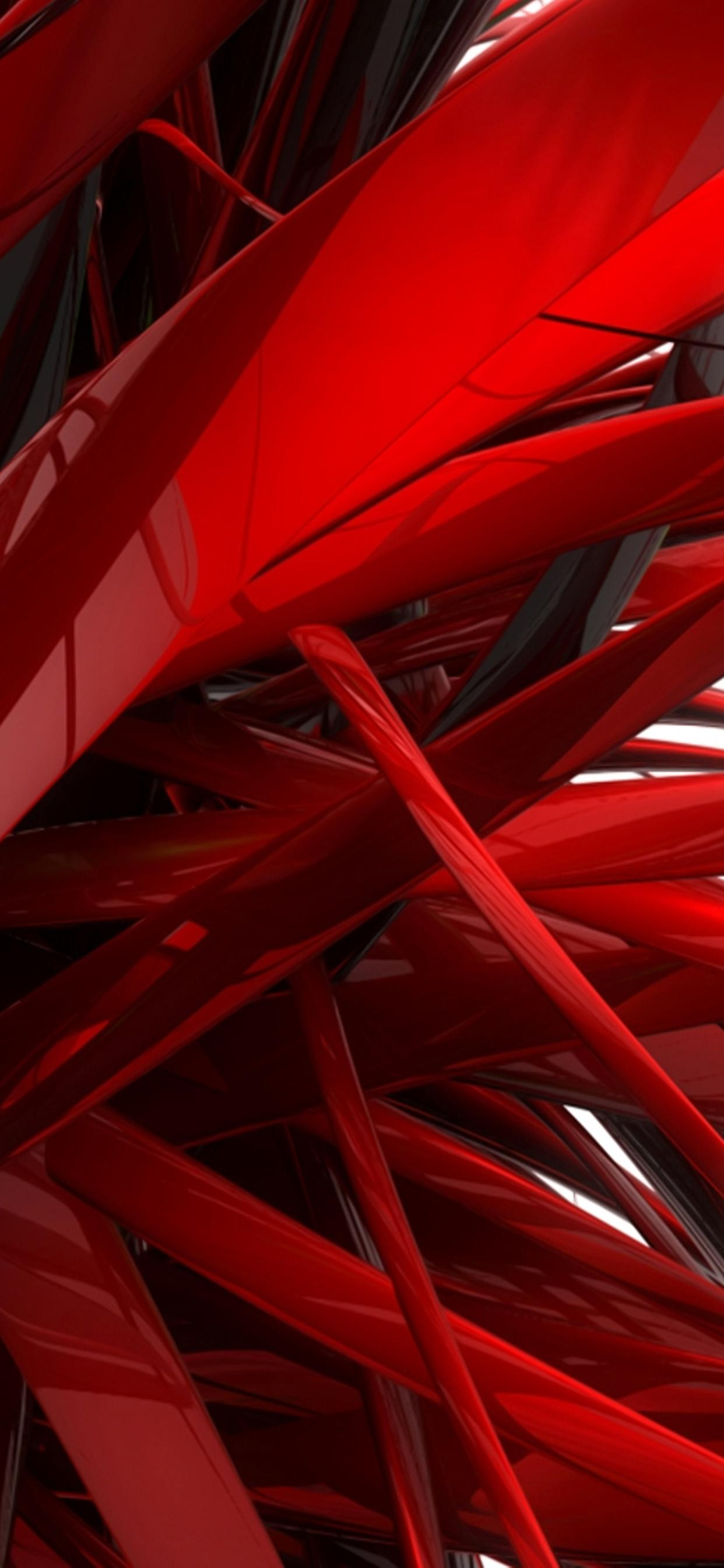 Red Lines Abstract Hd Wallpaper