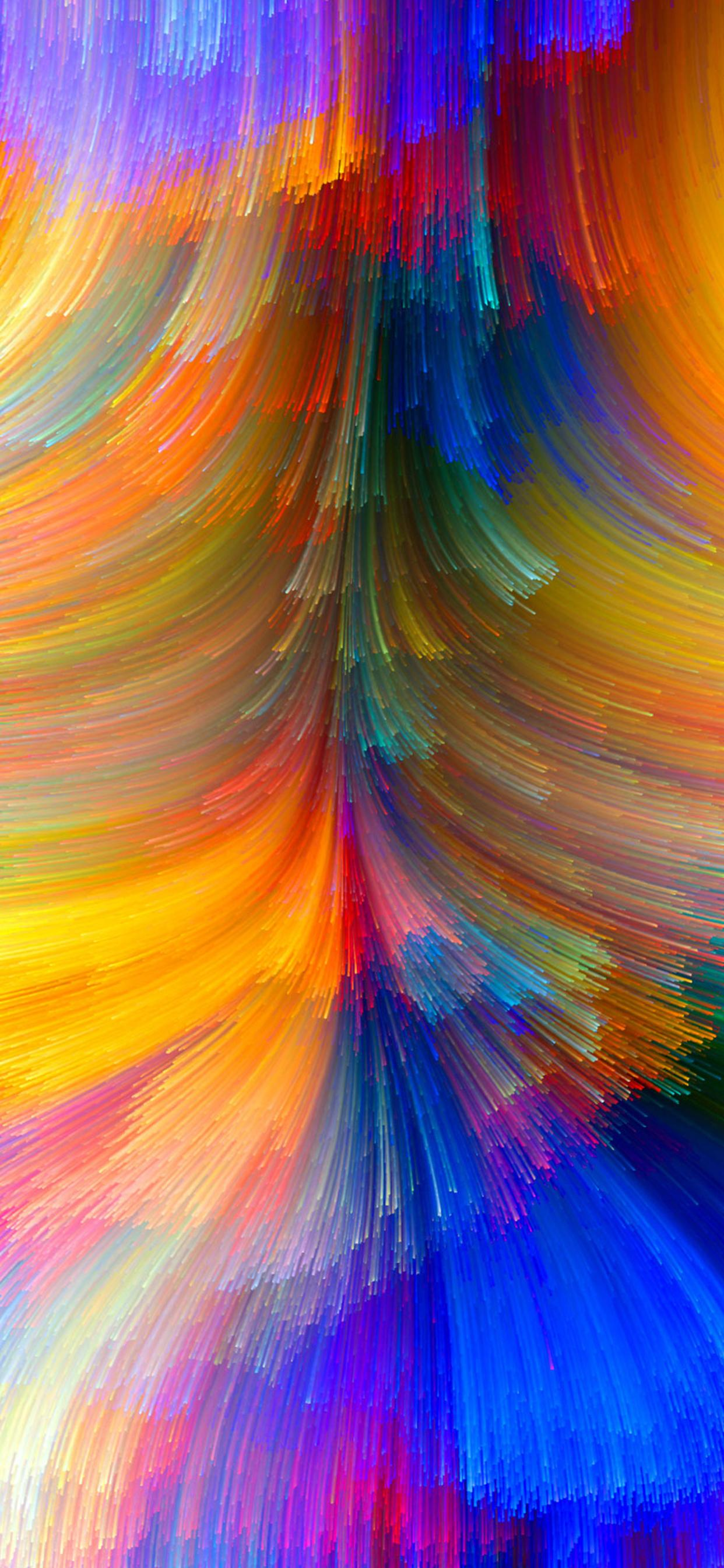 Abstract Colorful Wallpaper Hd Bright Colors