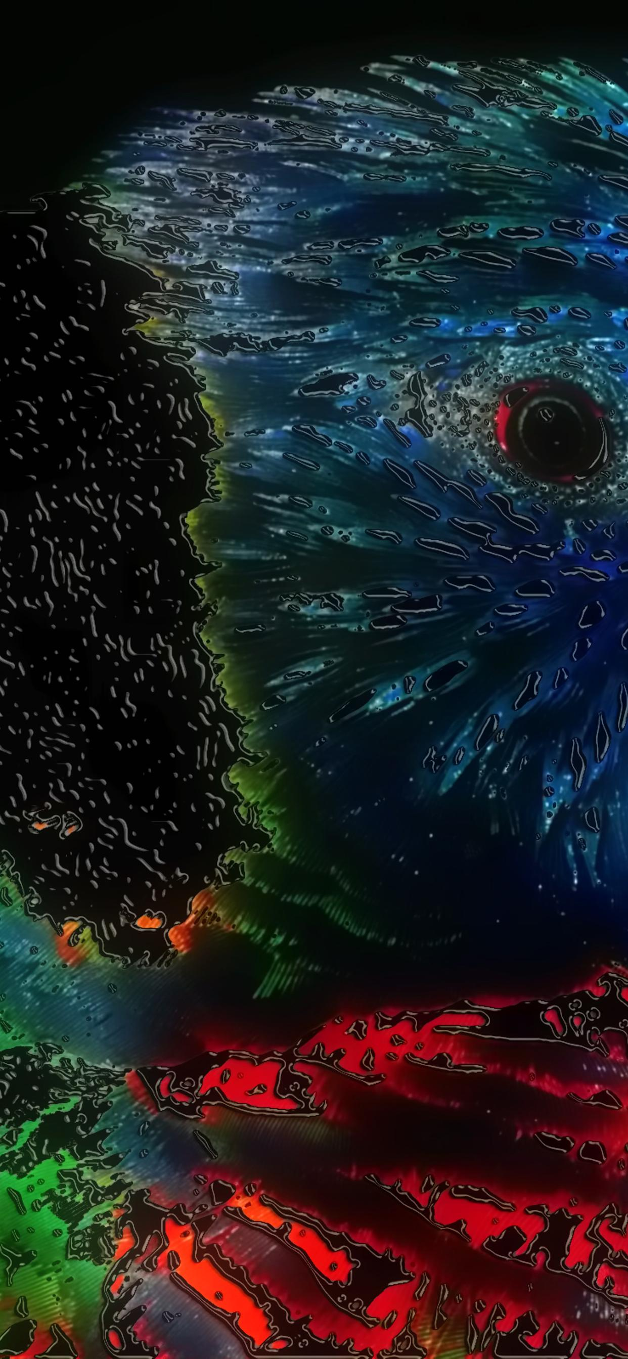 Artistic Colorful Bird Wallpaper Abstract Wallpaper