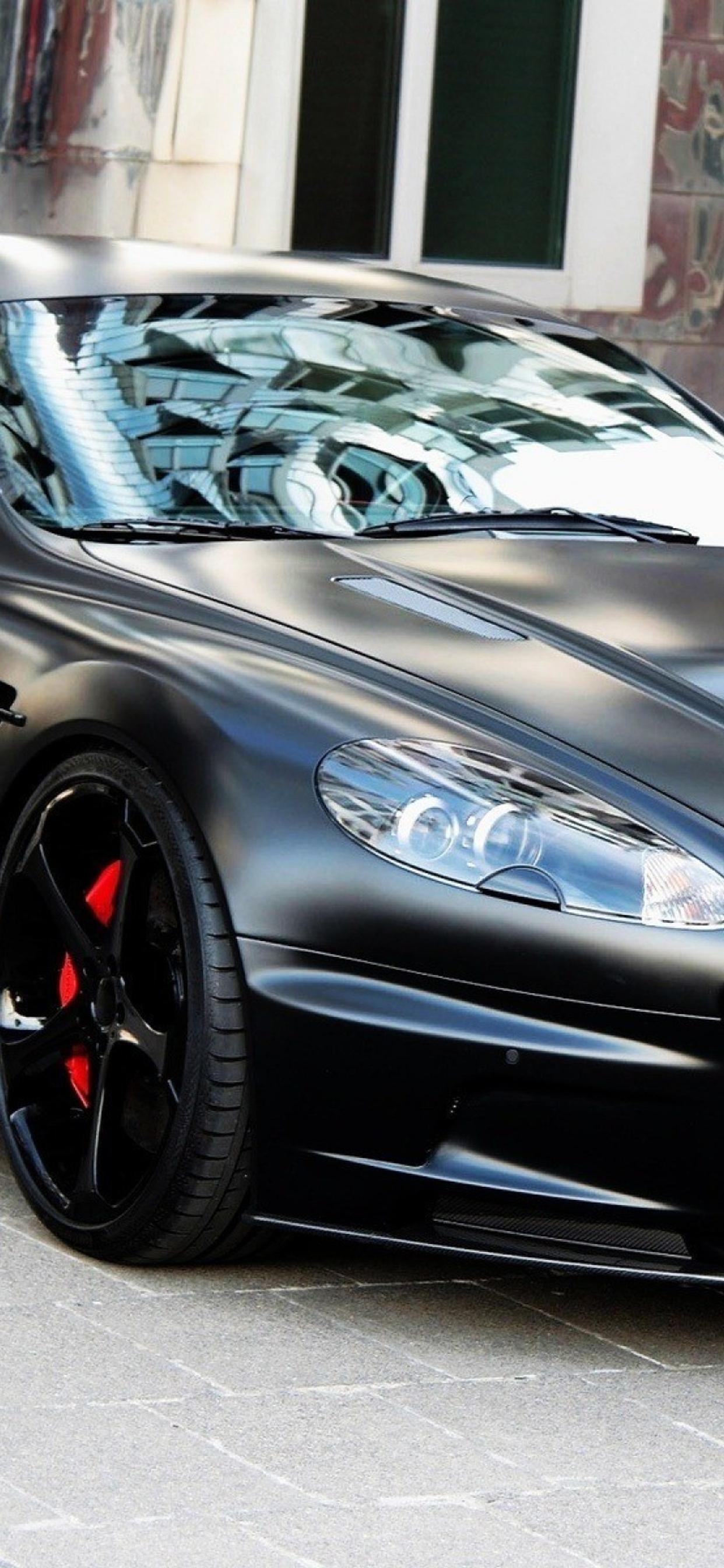Black Aston Martin Db9 Hd Wallpaper