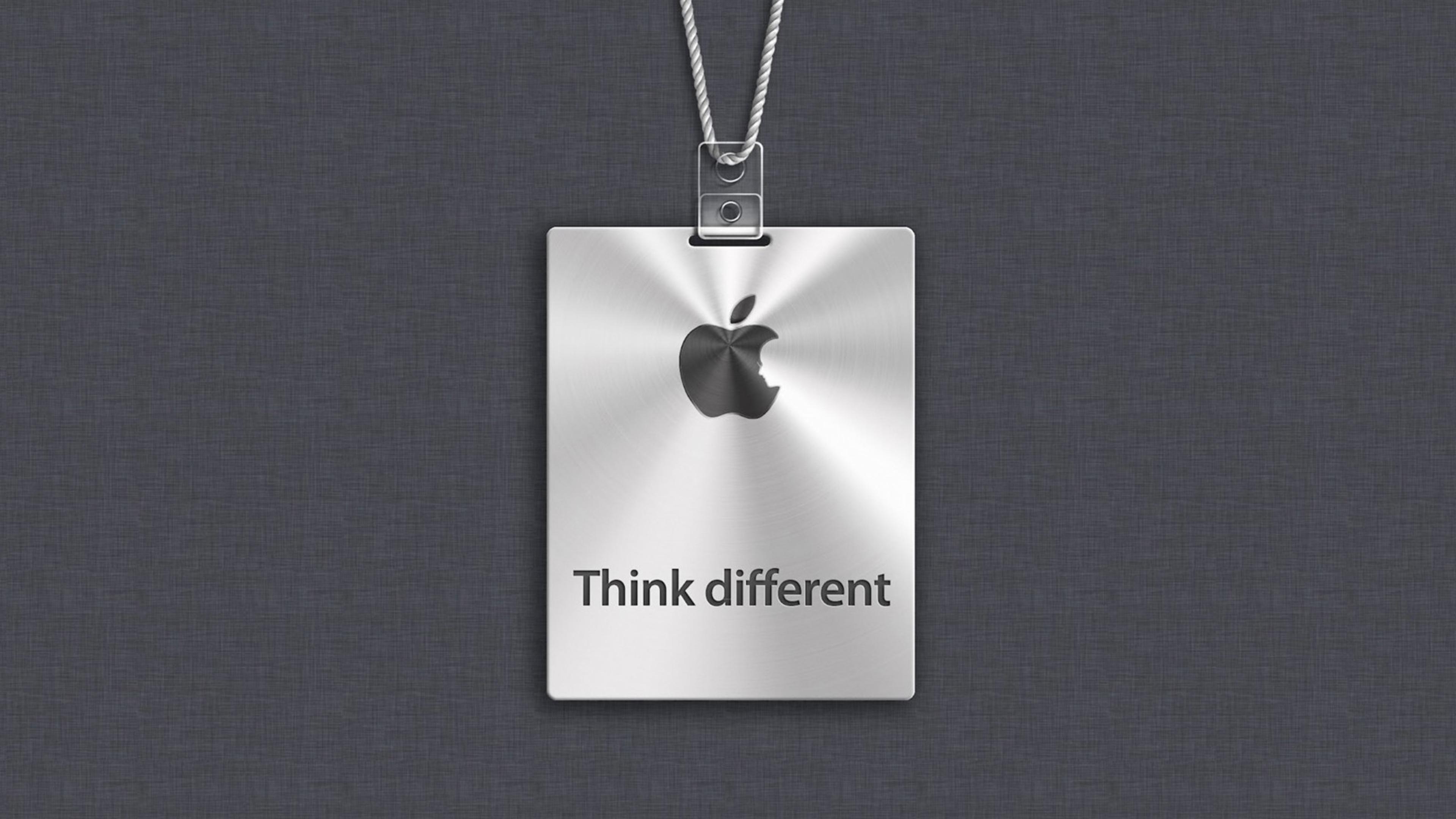 Apple Logo Think Different Hd Wallpaper
