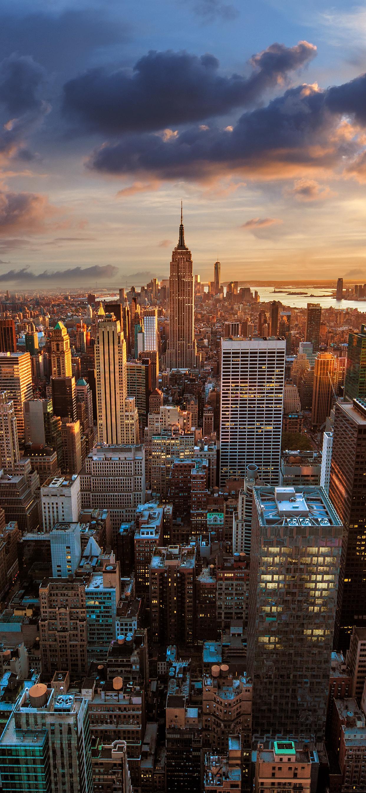 New York City Seen From The Rockefeller Center