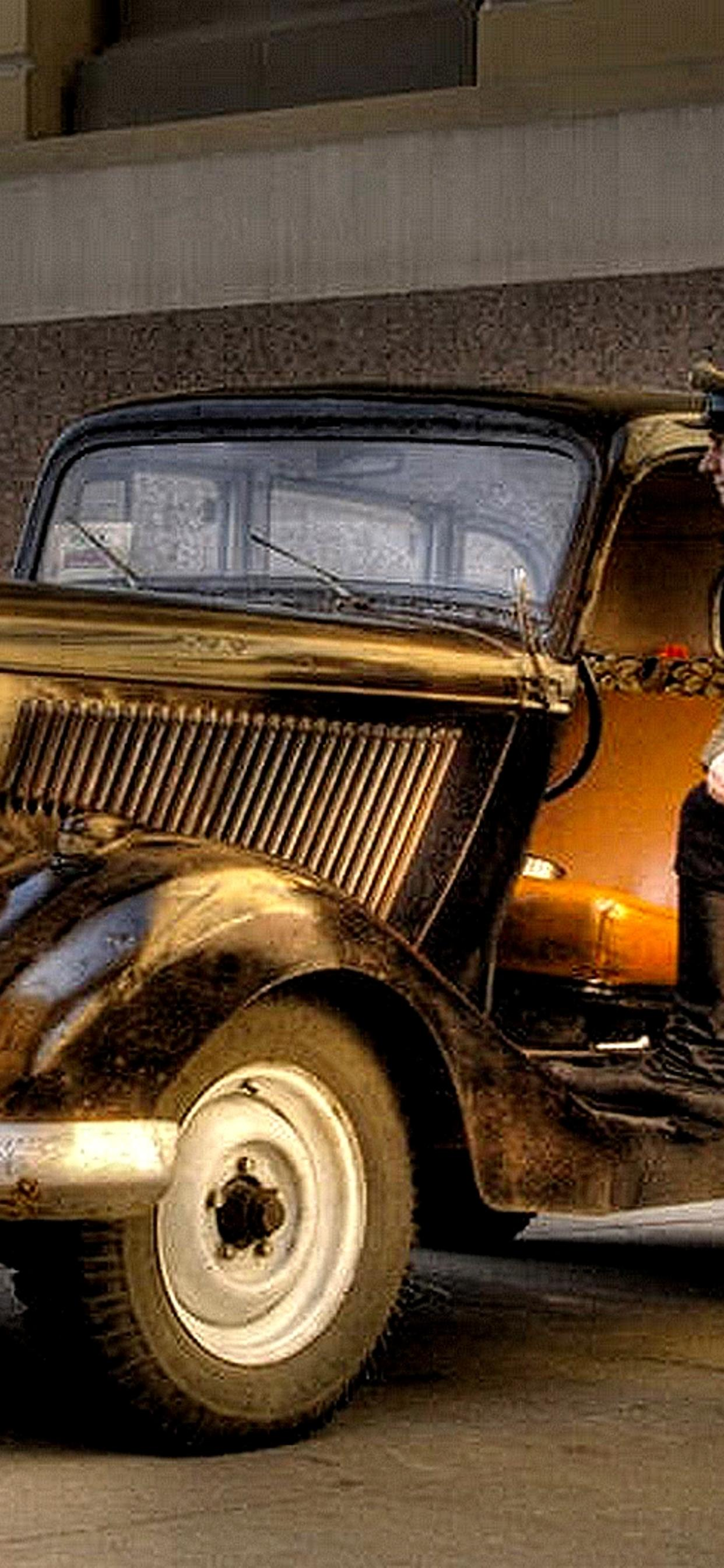 Old Car Used In The Army Hd Wallpaper