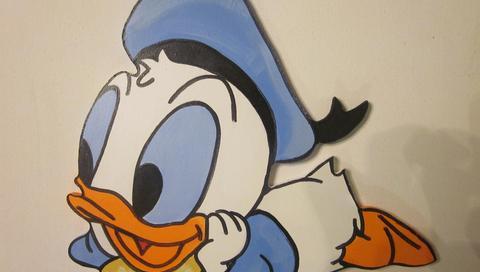 Baby Donald Duck wallpaper - Cartoon character