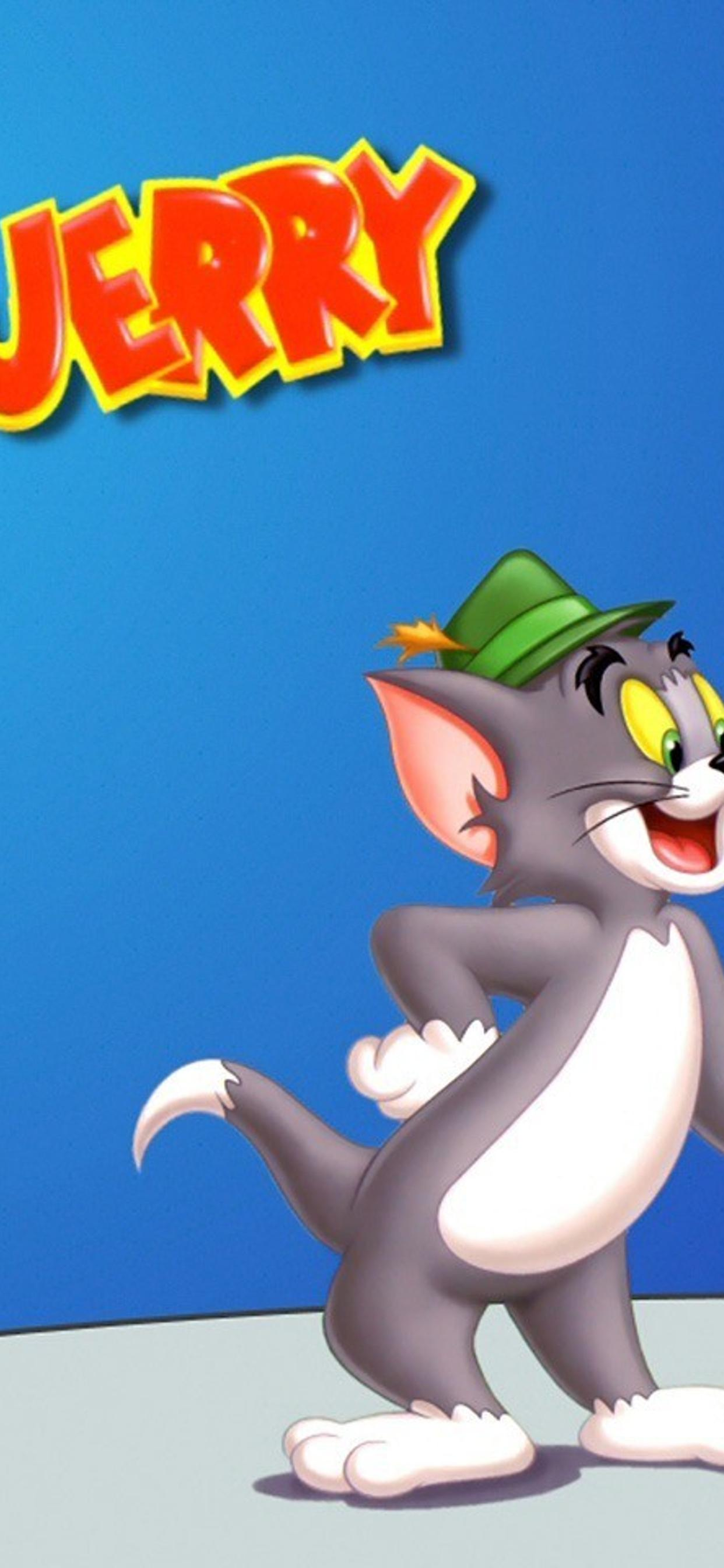 Tom And Jerry Are Friends Cartoon Wallpaper