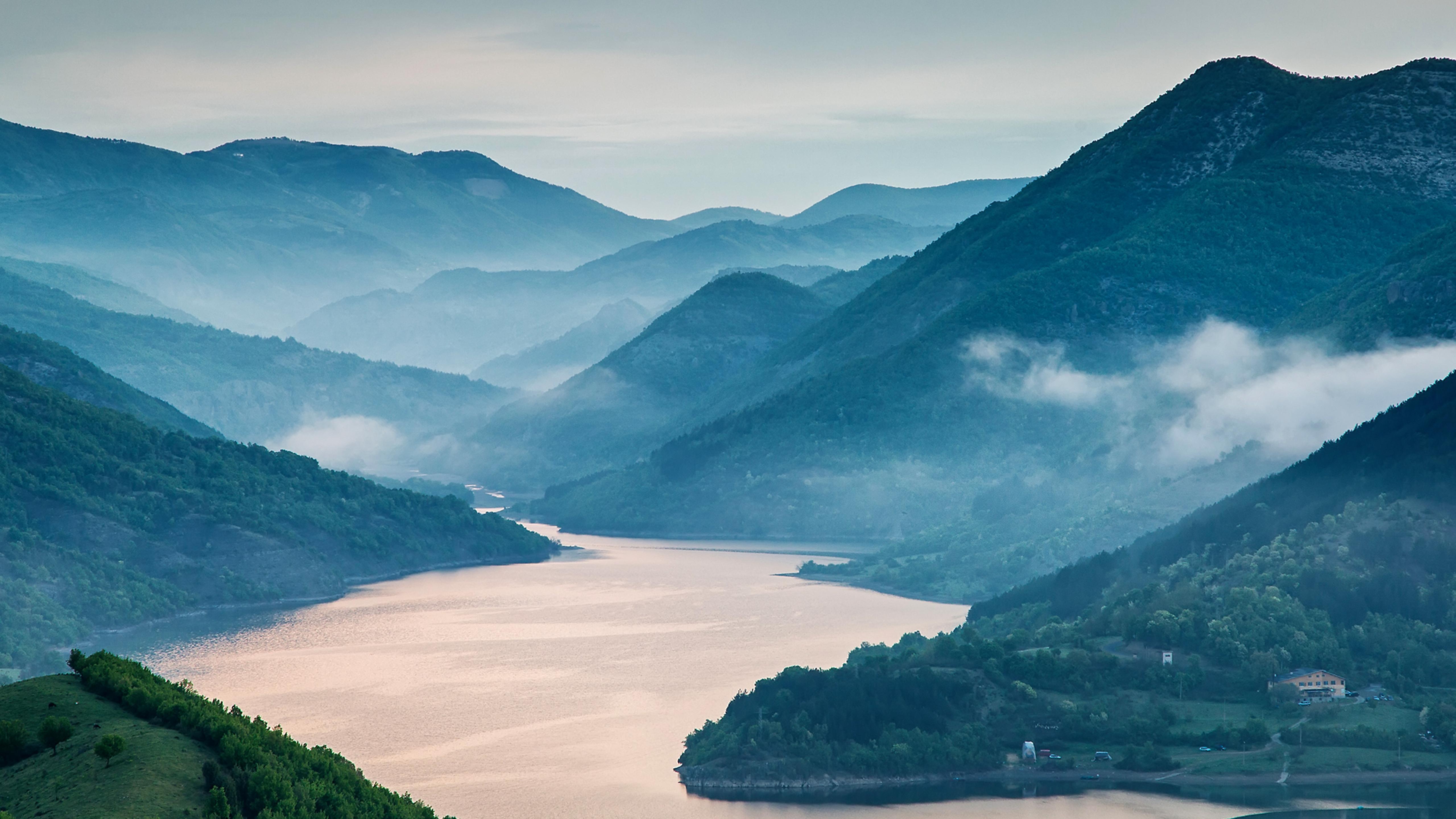 A Beautiful Landscape Of Nature Hd Wallpaper Wallpaper Download 5120x2880