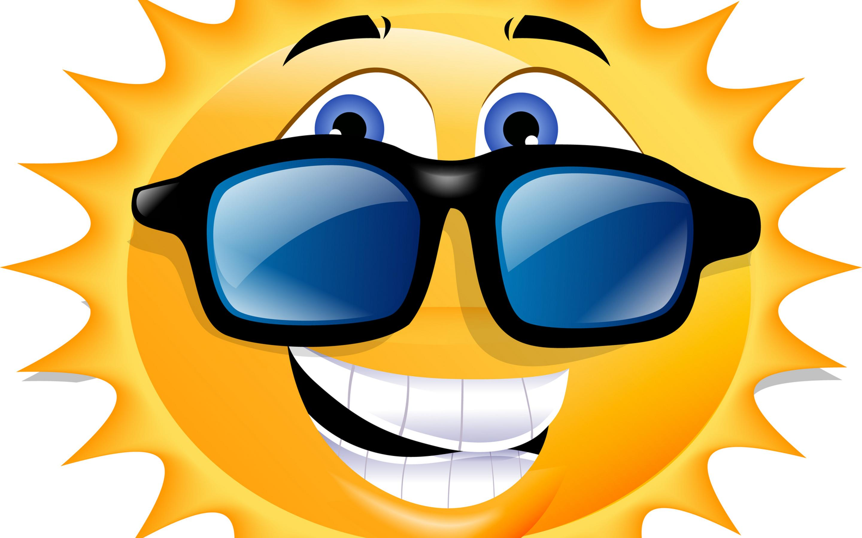 A Happy Sun With Sunglasses Funny Wallpaper Wallpaper