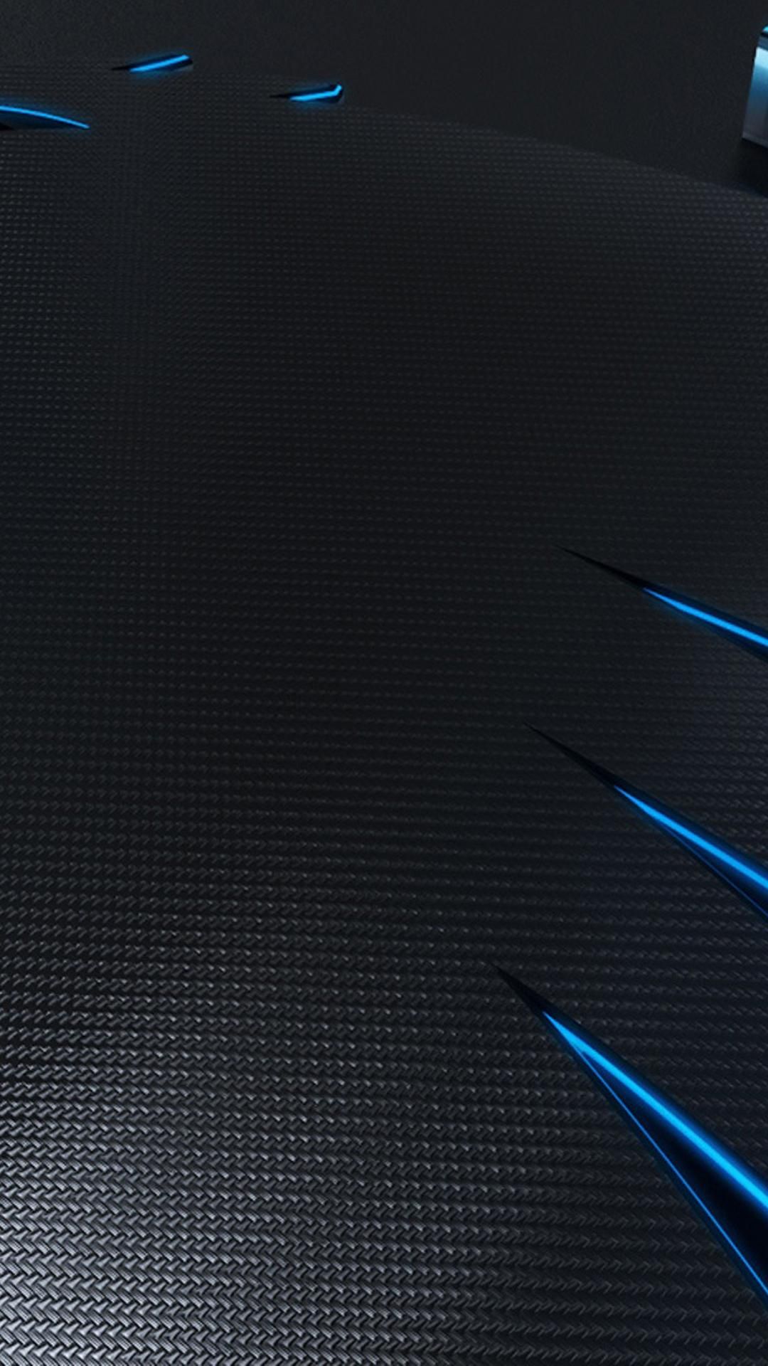 Abstract Black And Blue HD Wallpaper Download 1080x1920