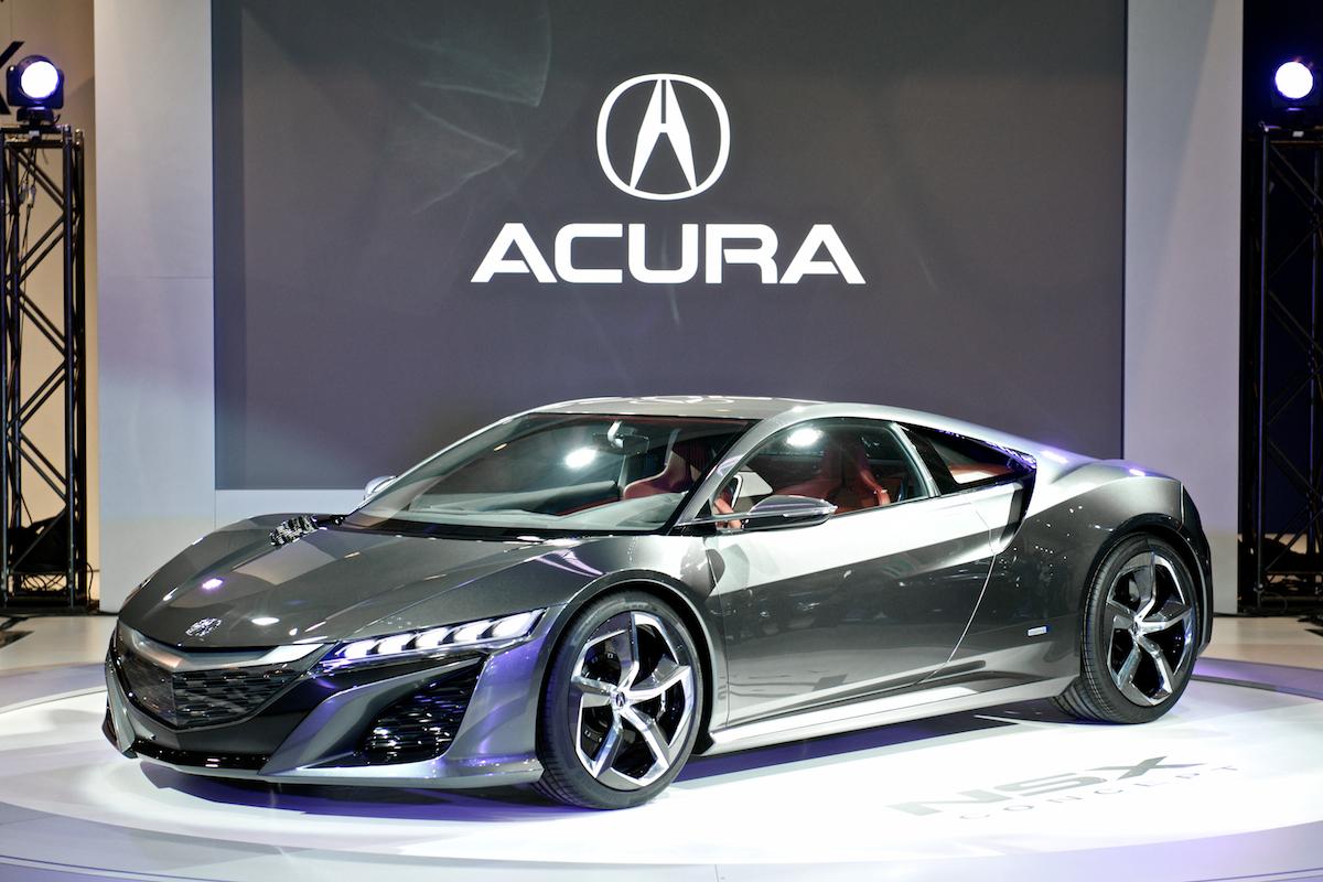 Acura Nsx Splendid Gray Acura Car X