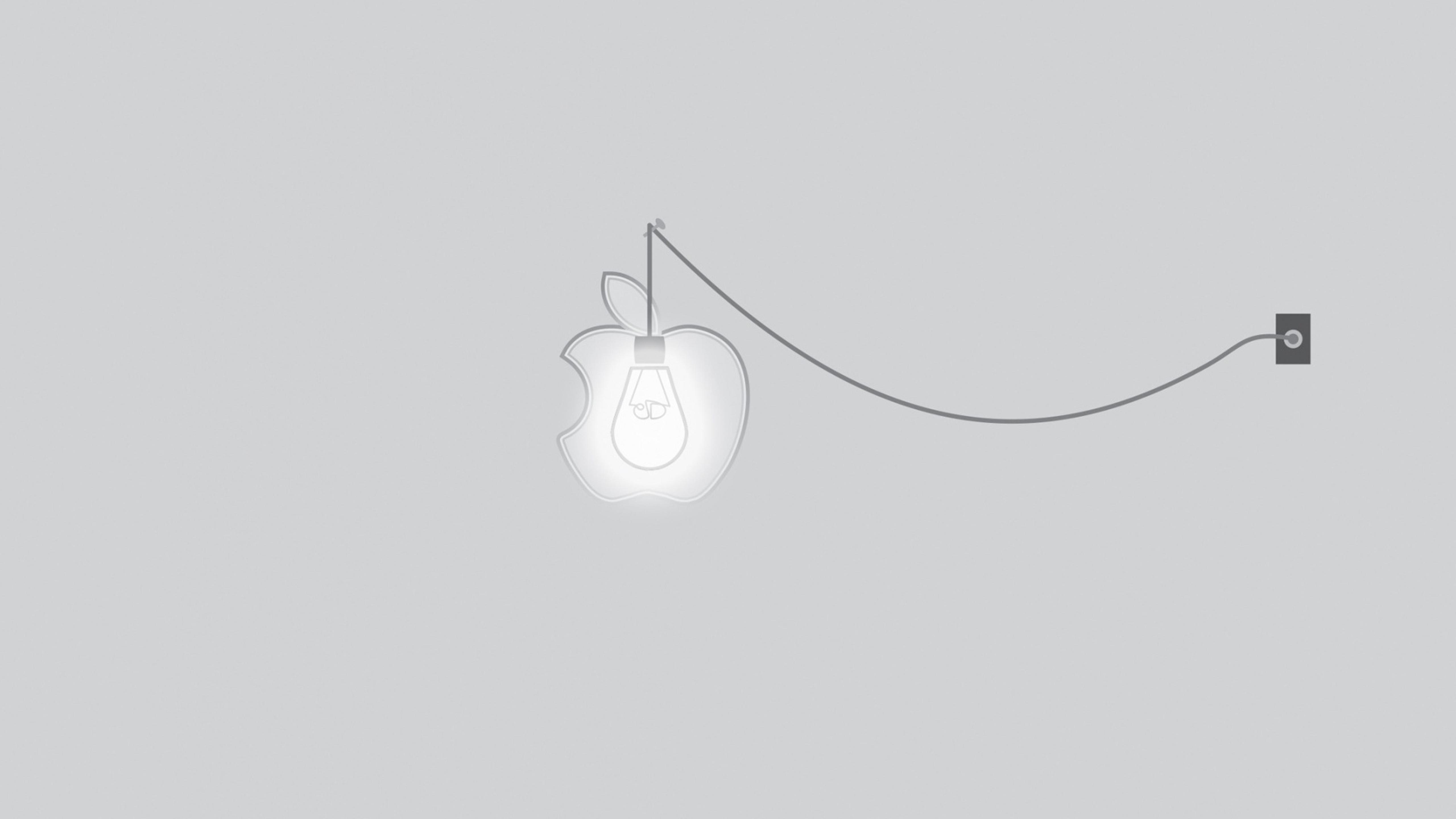 apple lightning - funny apple wallpaper wallpaper download 5120x2880