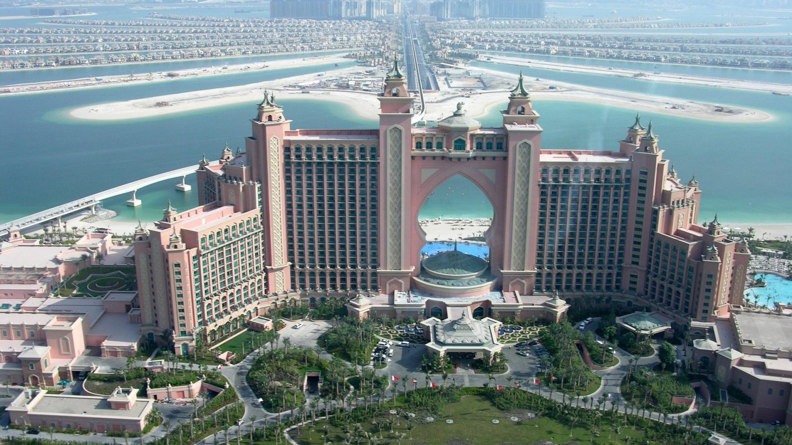 Architecture: Dubai Building HD Wallpaper Download 2560x1440