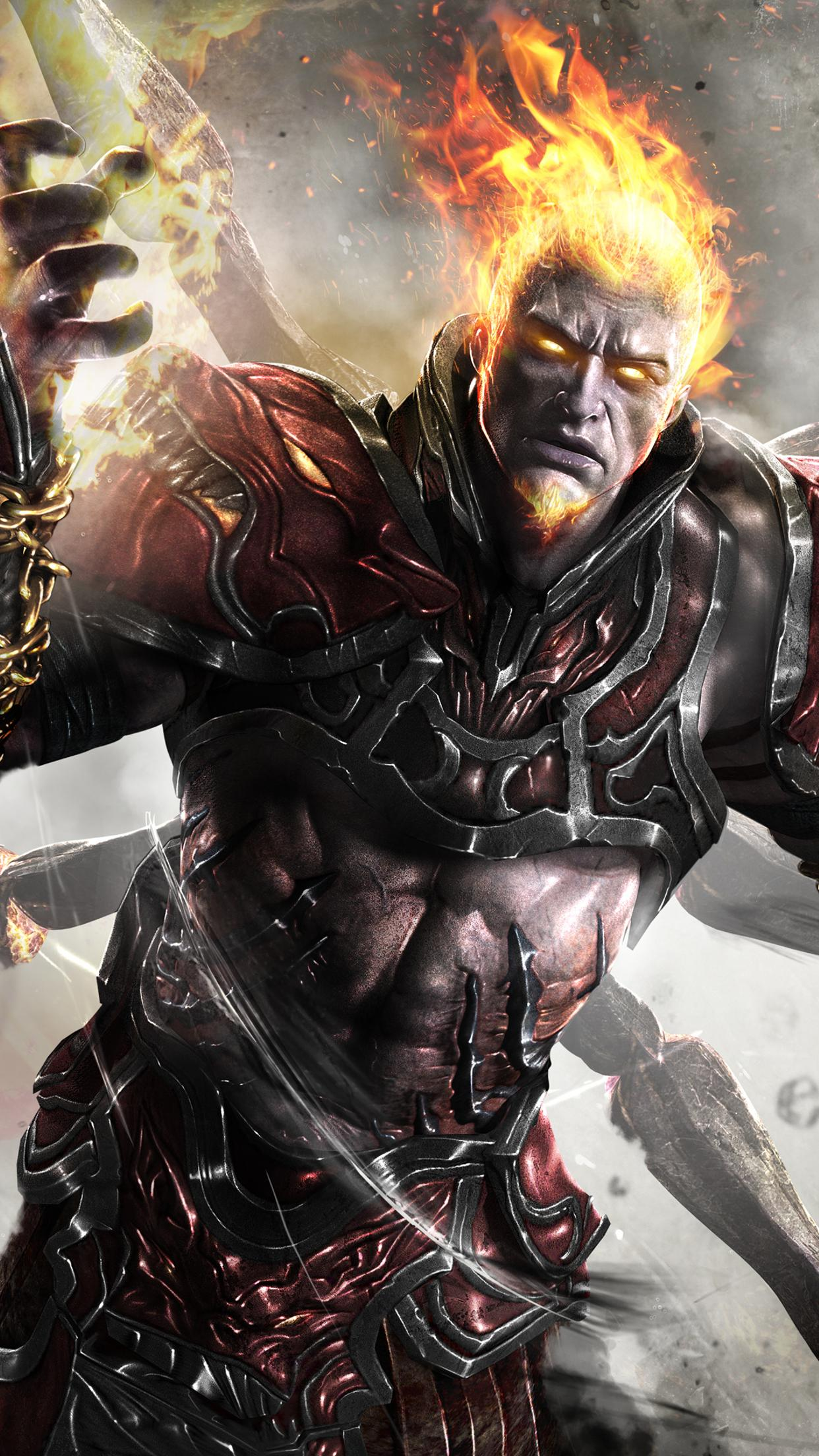 Ares From God Of War Ascension Wallpaper Download 1242x2208