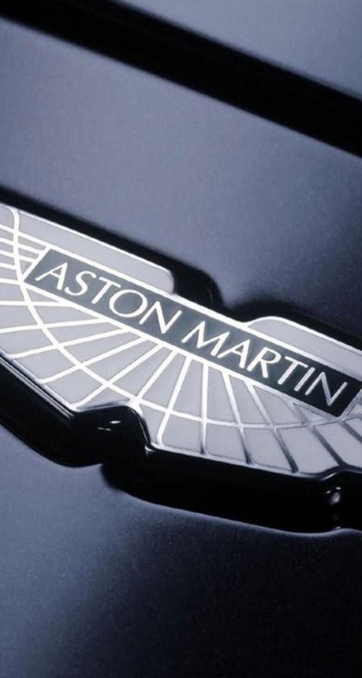 Aston Martin Symbol Wallpaper Wallpaper Download 744x1392