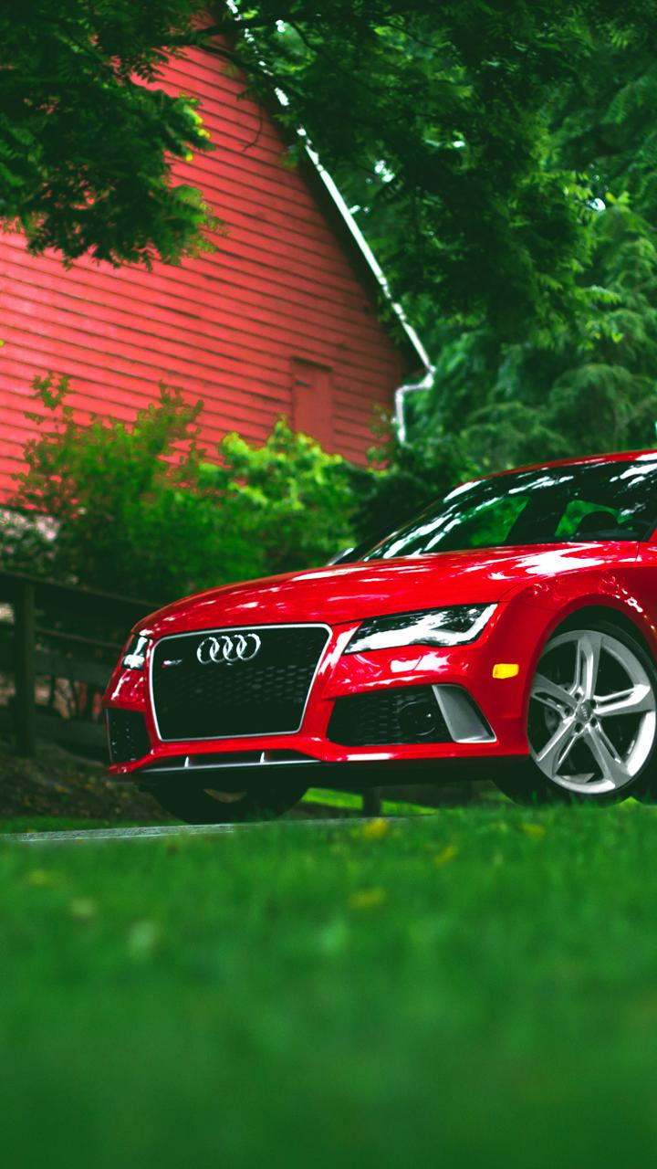 audi rs7 red hd wallpaper download 720x1280