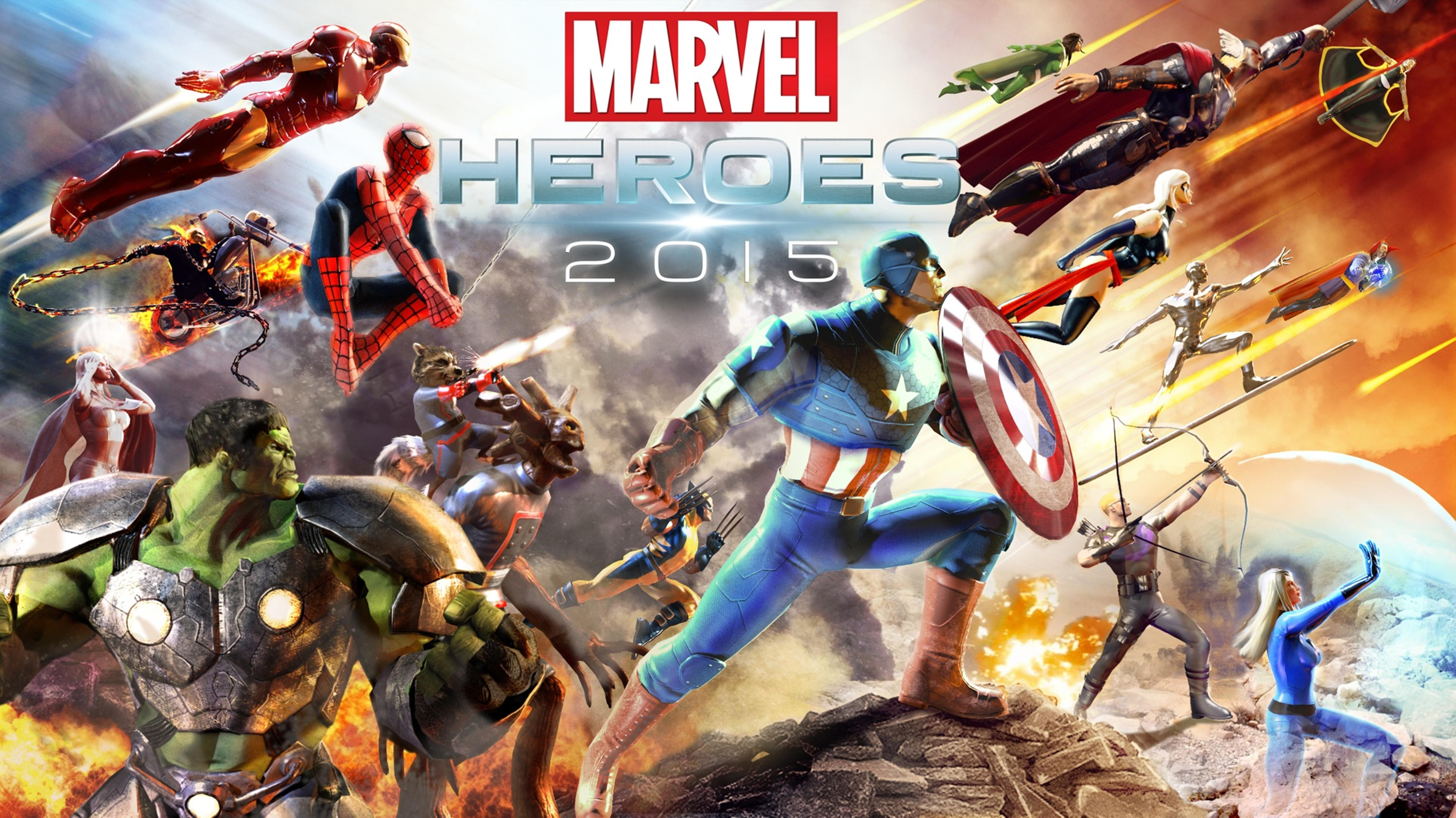 Beautiful Poster With 2015 Heroes Hd Wallpaper Wallpaper