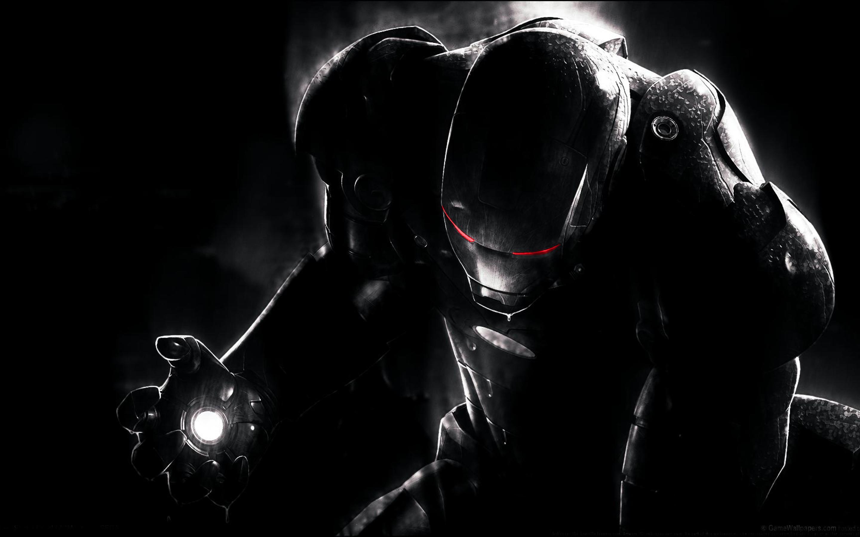 Download Wallpaper Macbook Iron Man - black-iron-man-with-red-eyes-2880x1800  2018_621583.jpg