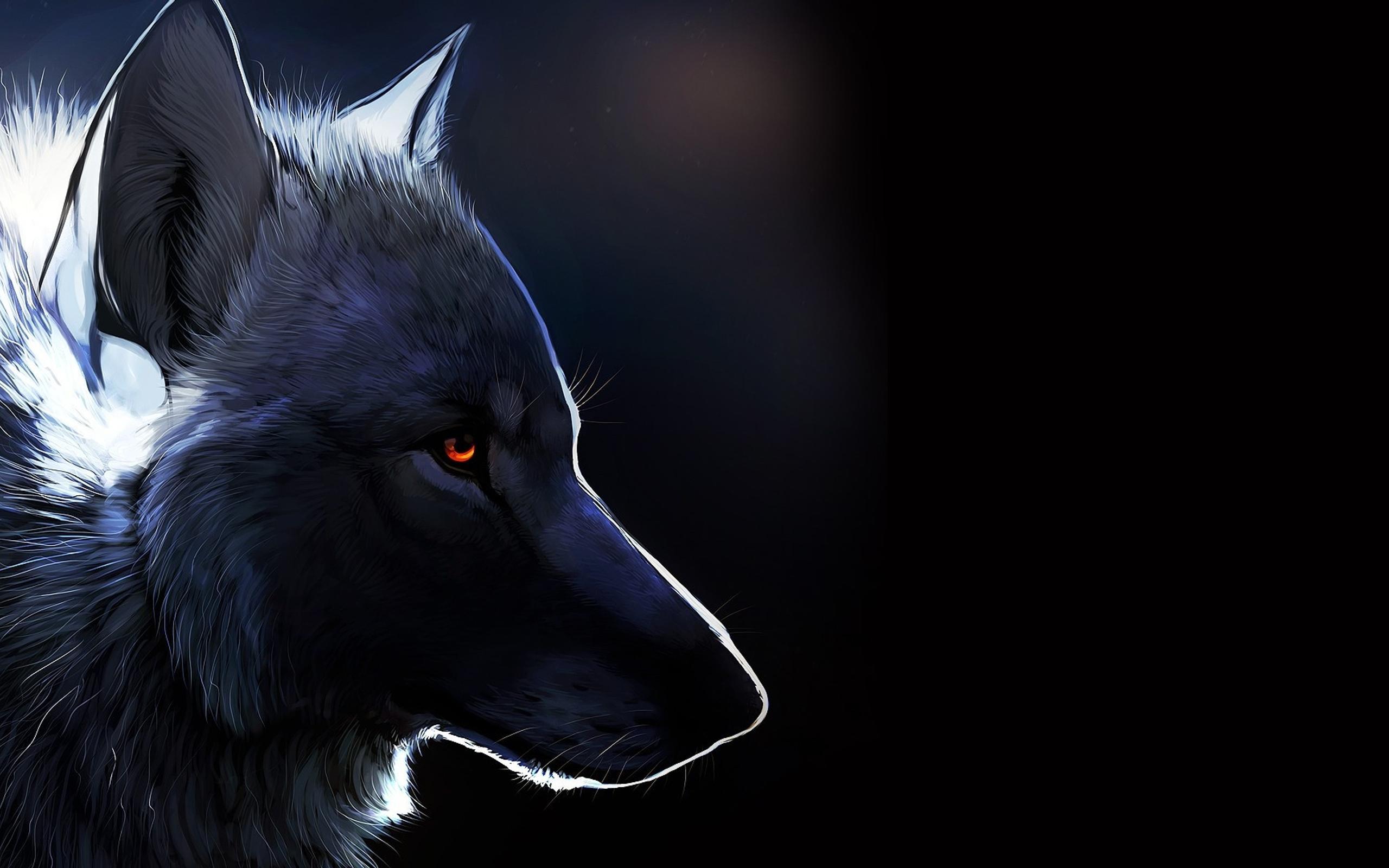 Amazing Wallpaper Macbook Wolf - black-wolf-drawing-dark-creative-wallpaper-2560x1600  Picture_894020.jpg