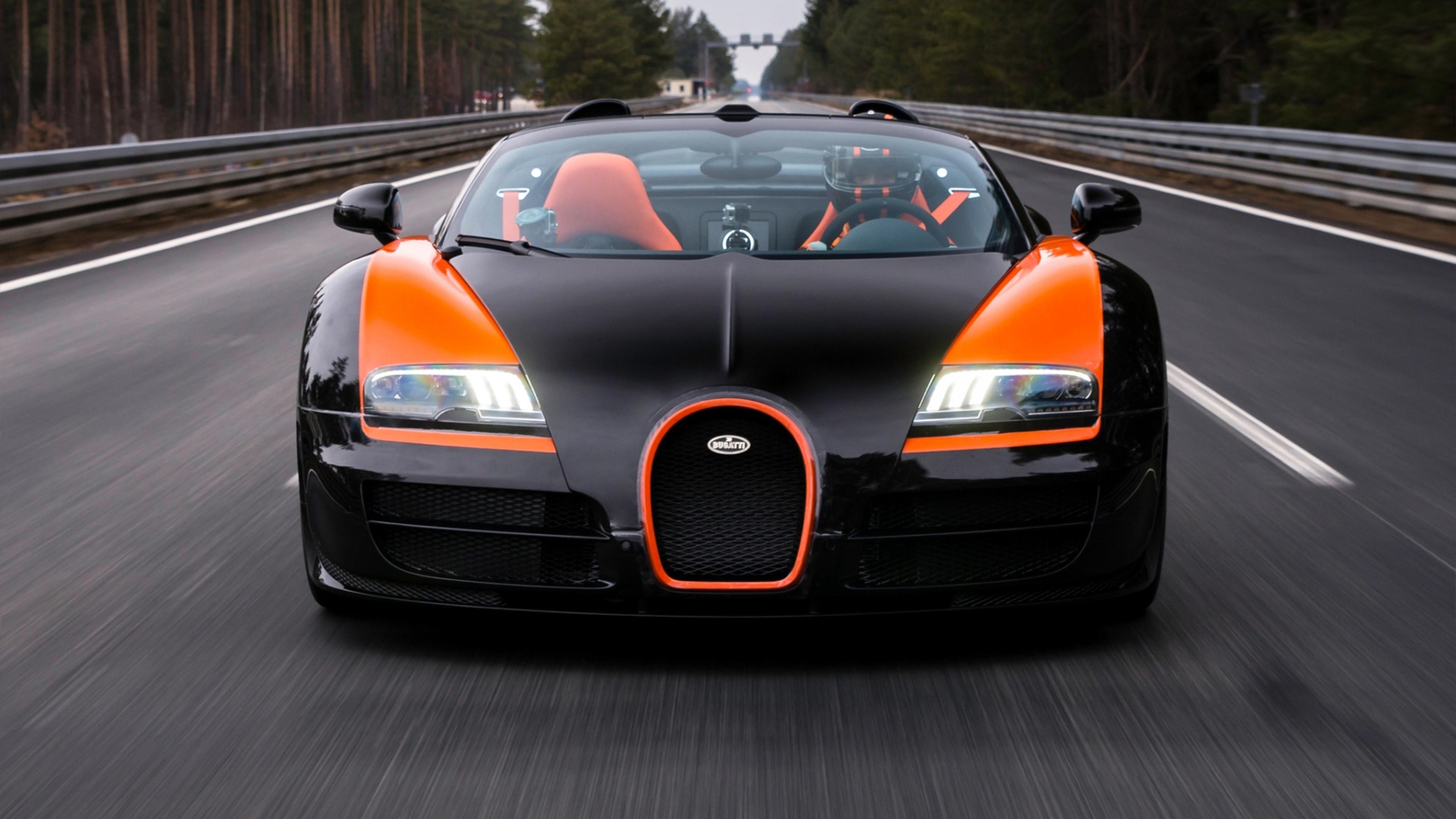 Bugatti Veyron Grand Sport HD Wallpaper Download 3840x2160