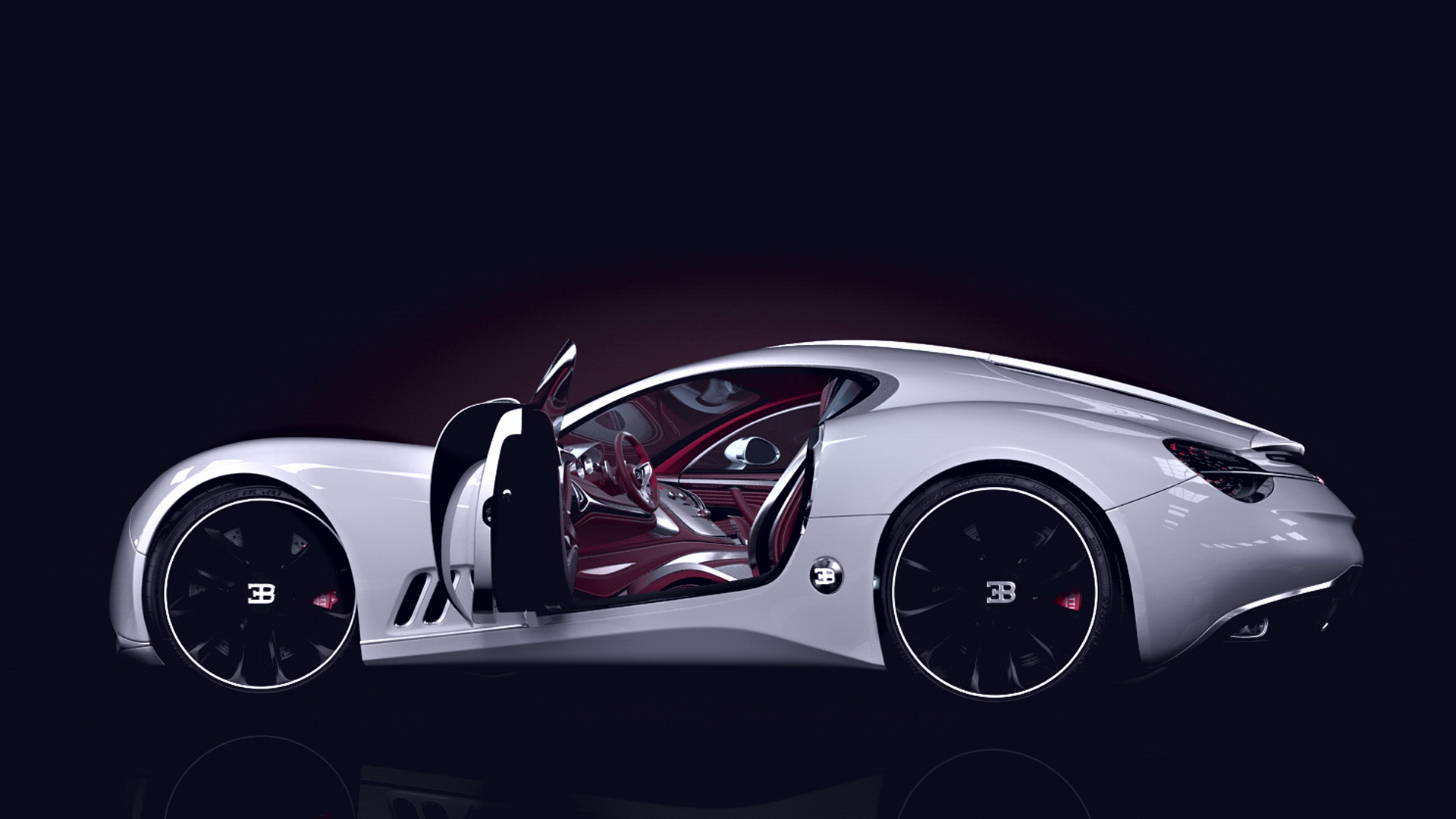 Car Body Design Of Bugatti Gangloff Concept