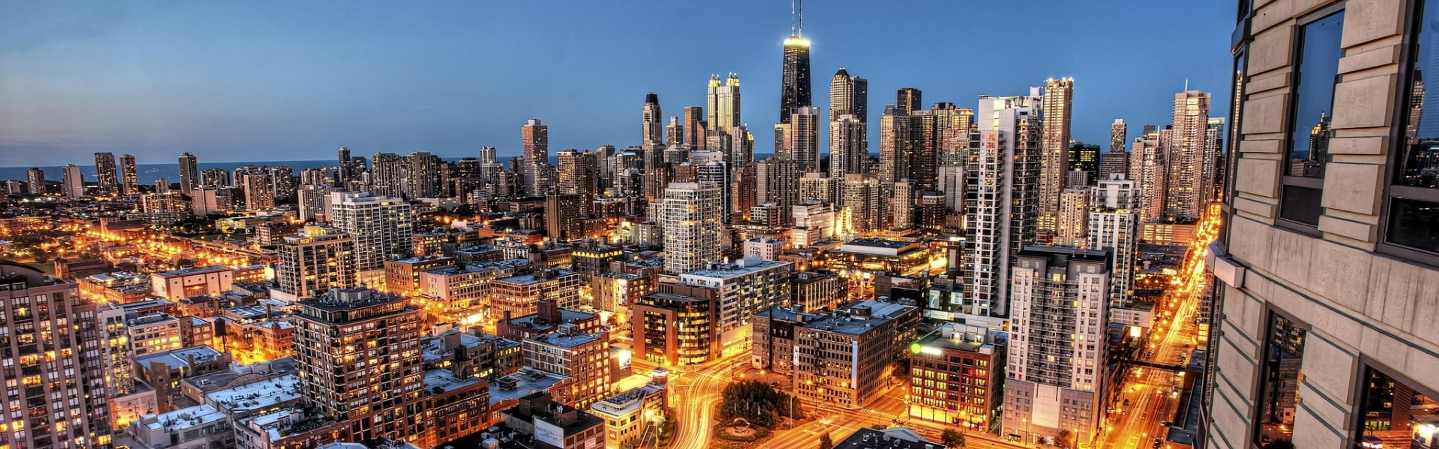 Wonderful Wallpaper Macbook Chicago - chicago-city-lighted-roads-in-night-2880x900  Pic_45430.jpg