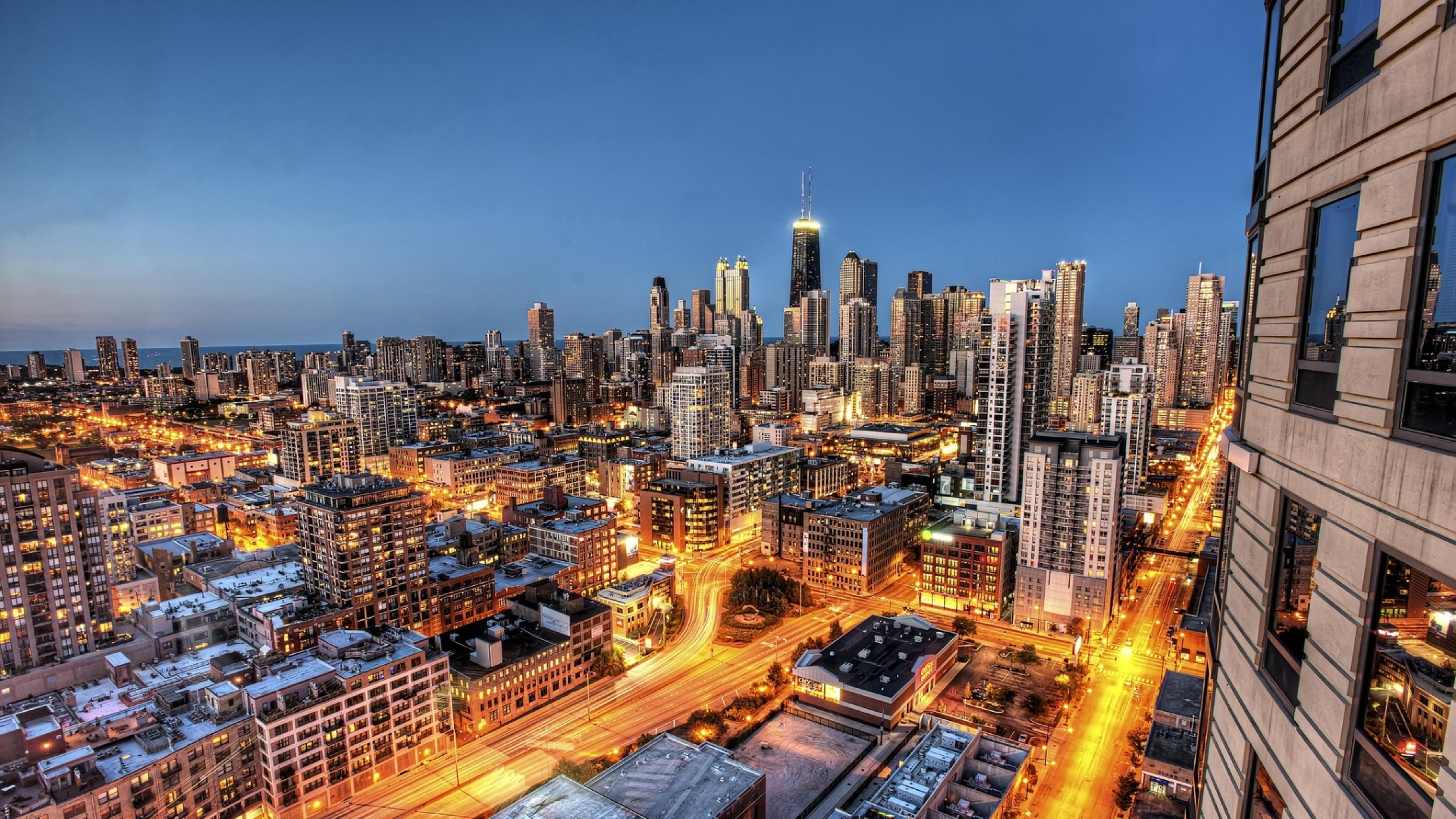 Good Wallpaper Night Chicago - chicago-city-lighted-roads-in-night-5120x2880  Graphic.jpg