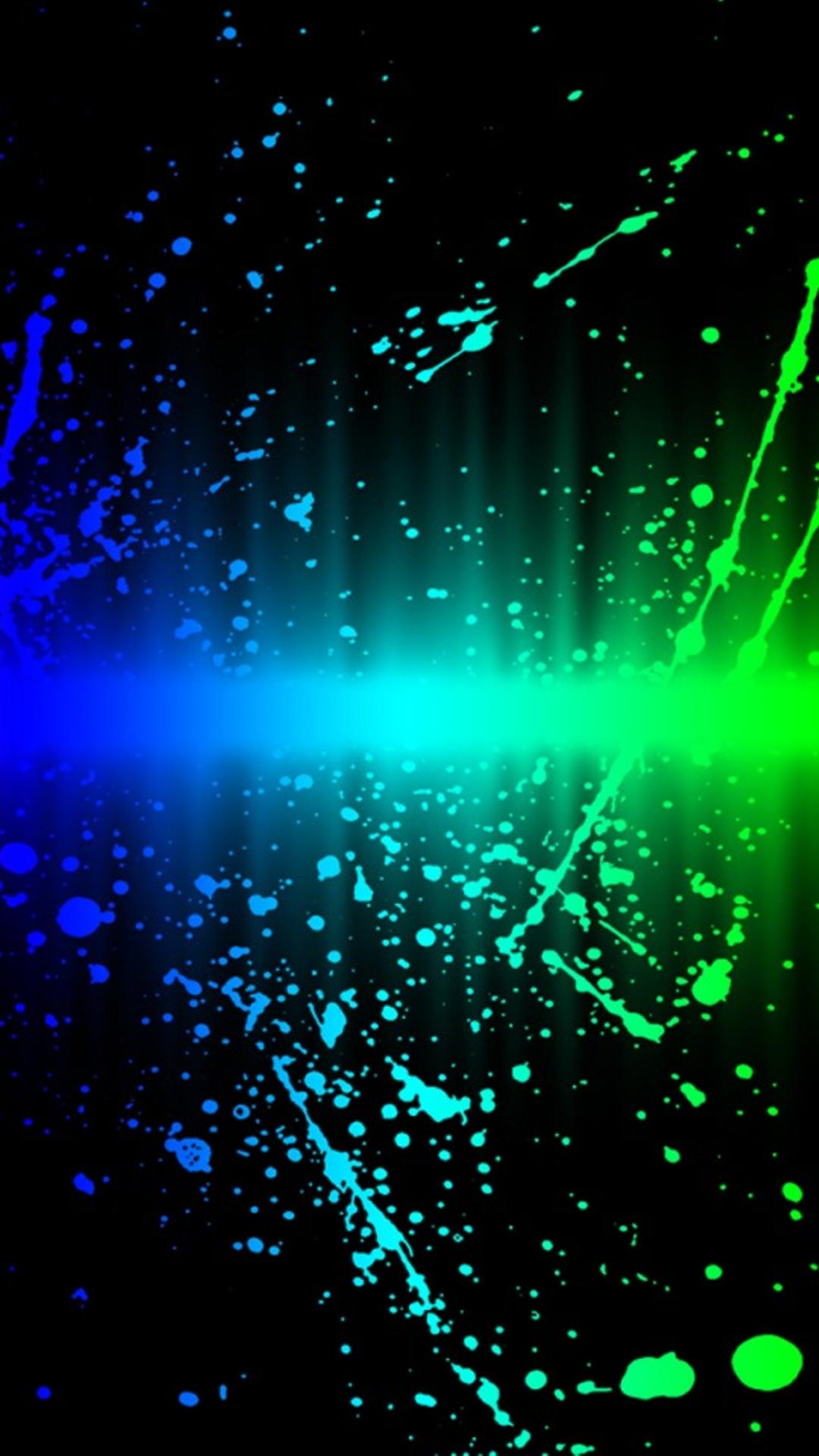 colors explosion abstract 3d wallpaper