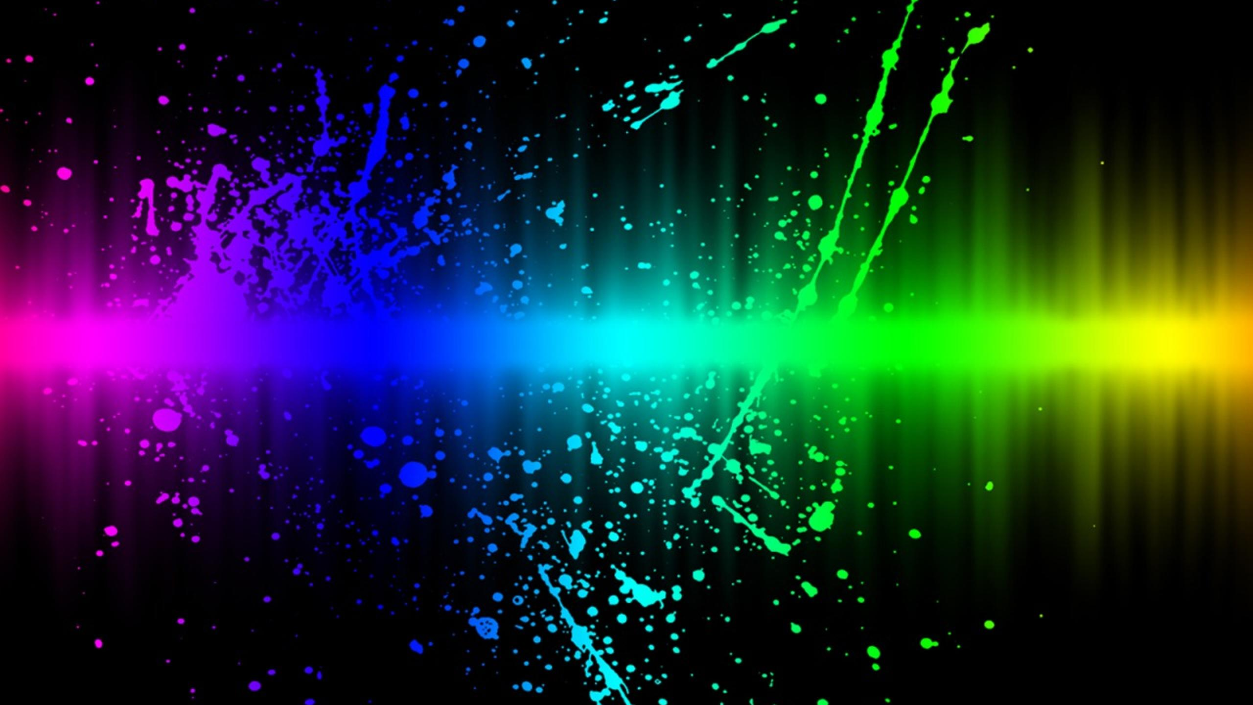 Download Wallpaper 2560x1440 Colors Explosion