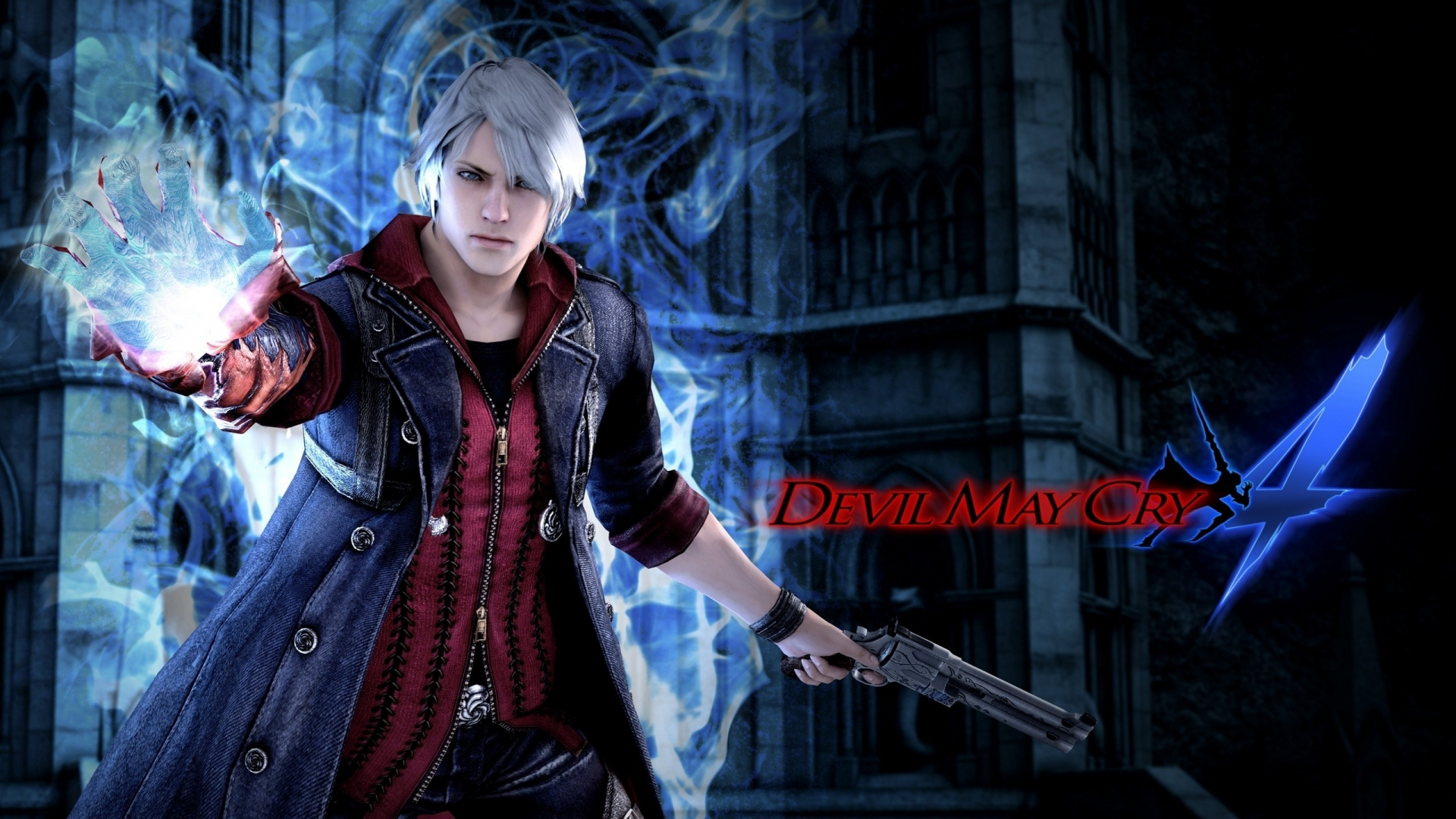 Devil May Cry 4 Game Poster