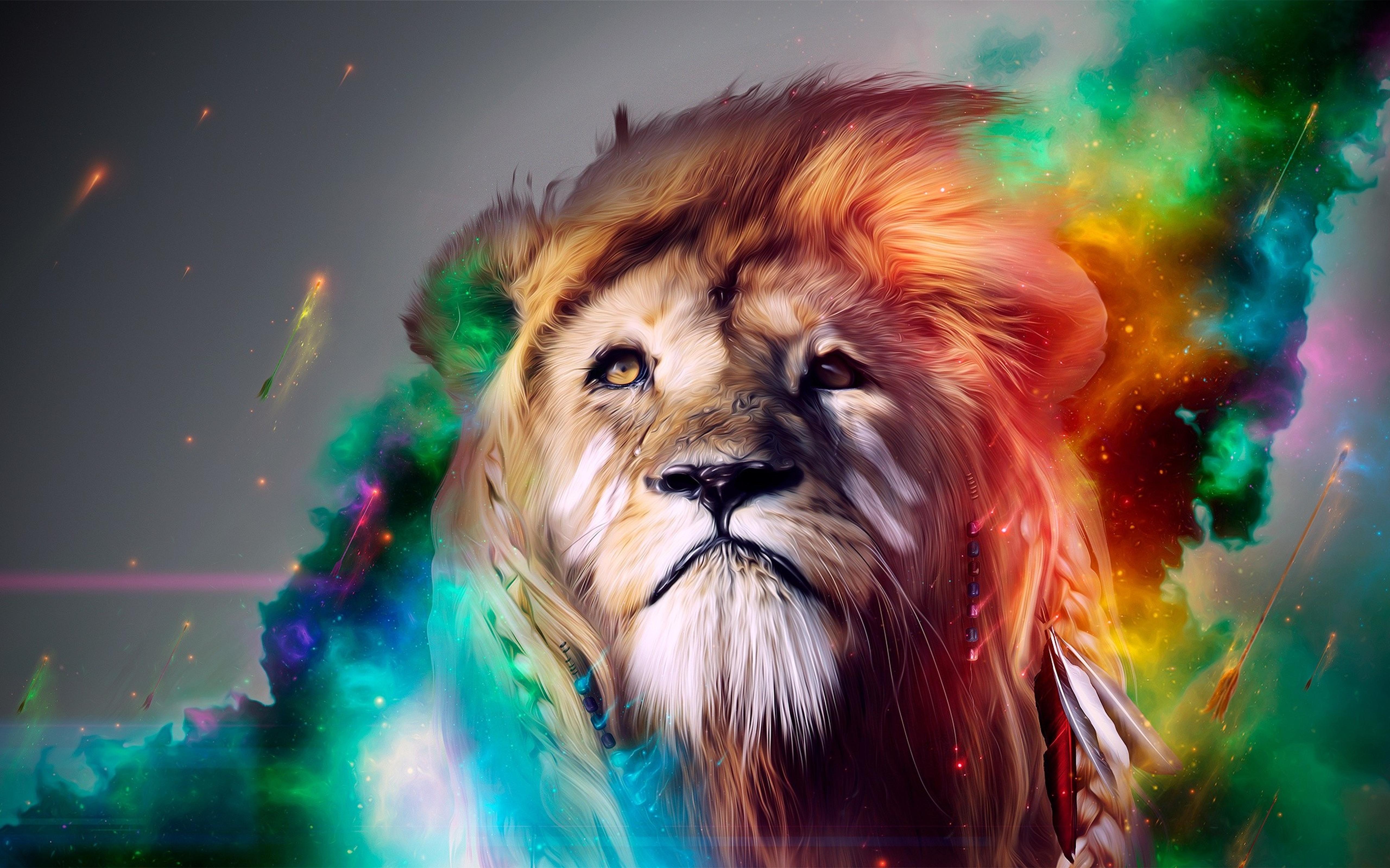 Download Wallpaper 5120x3200 Digital Art Design