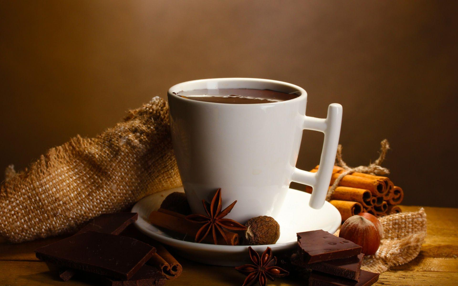Drink A Hot Chocolate In The Morning Hd Wallpaper