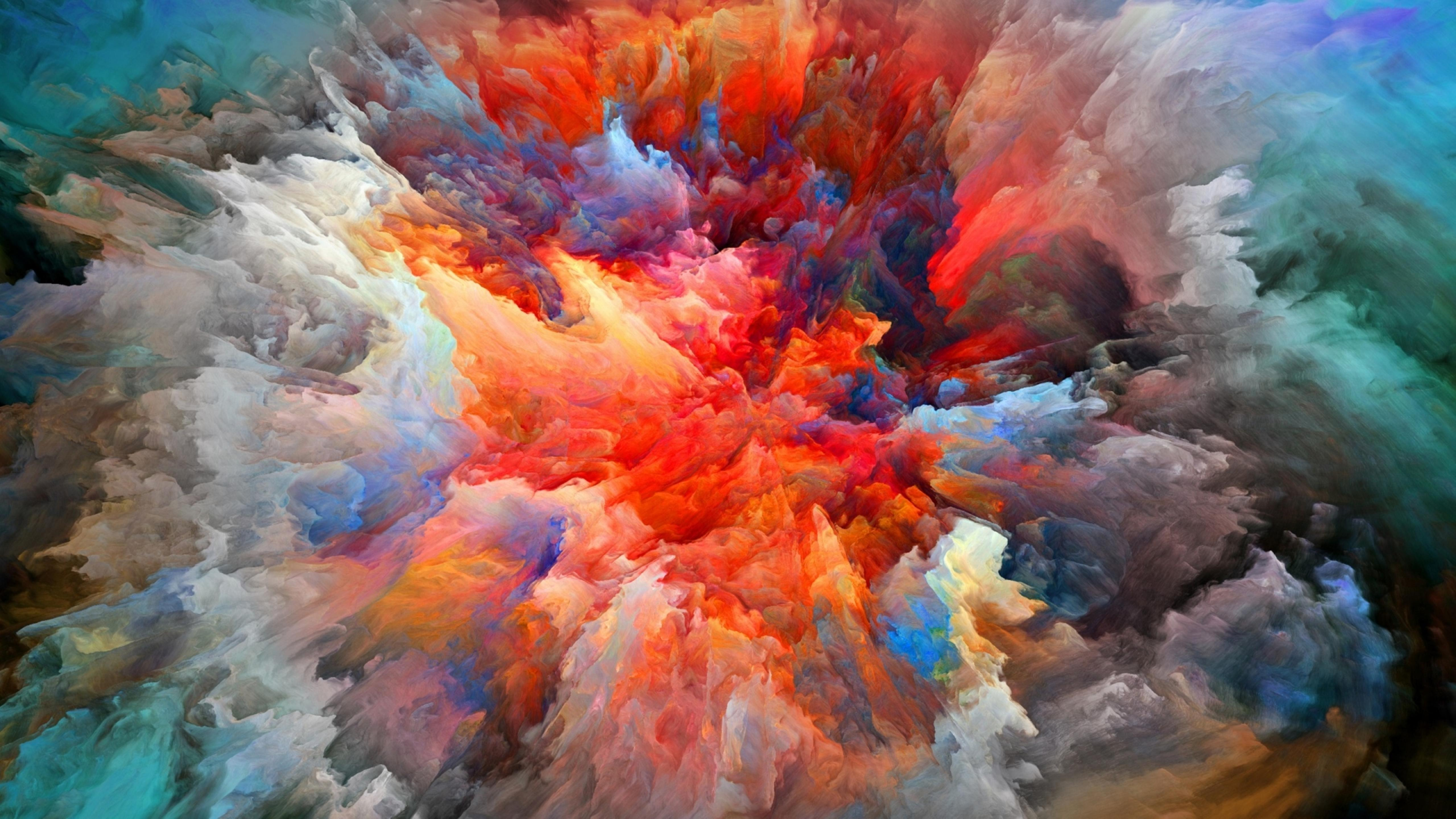 Explosion Of Colors Hd Wallpaper Wallpaper Download