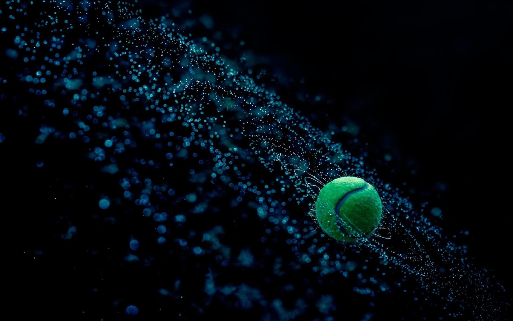 Fantasy Tennis Ball In Water