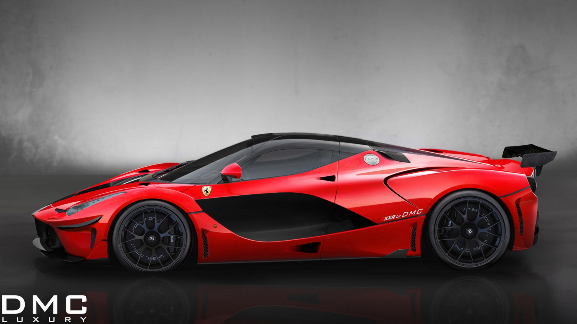 ferrari fxxr side red sport car. Black Bedroom Furniture Sets. Home Design Ideas