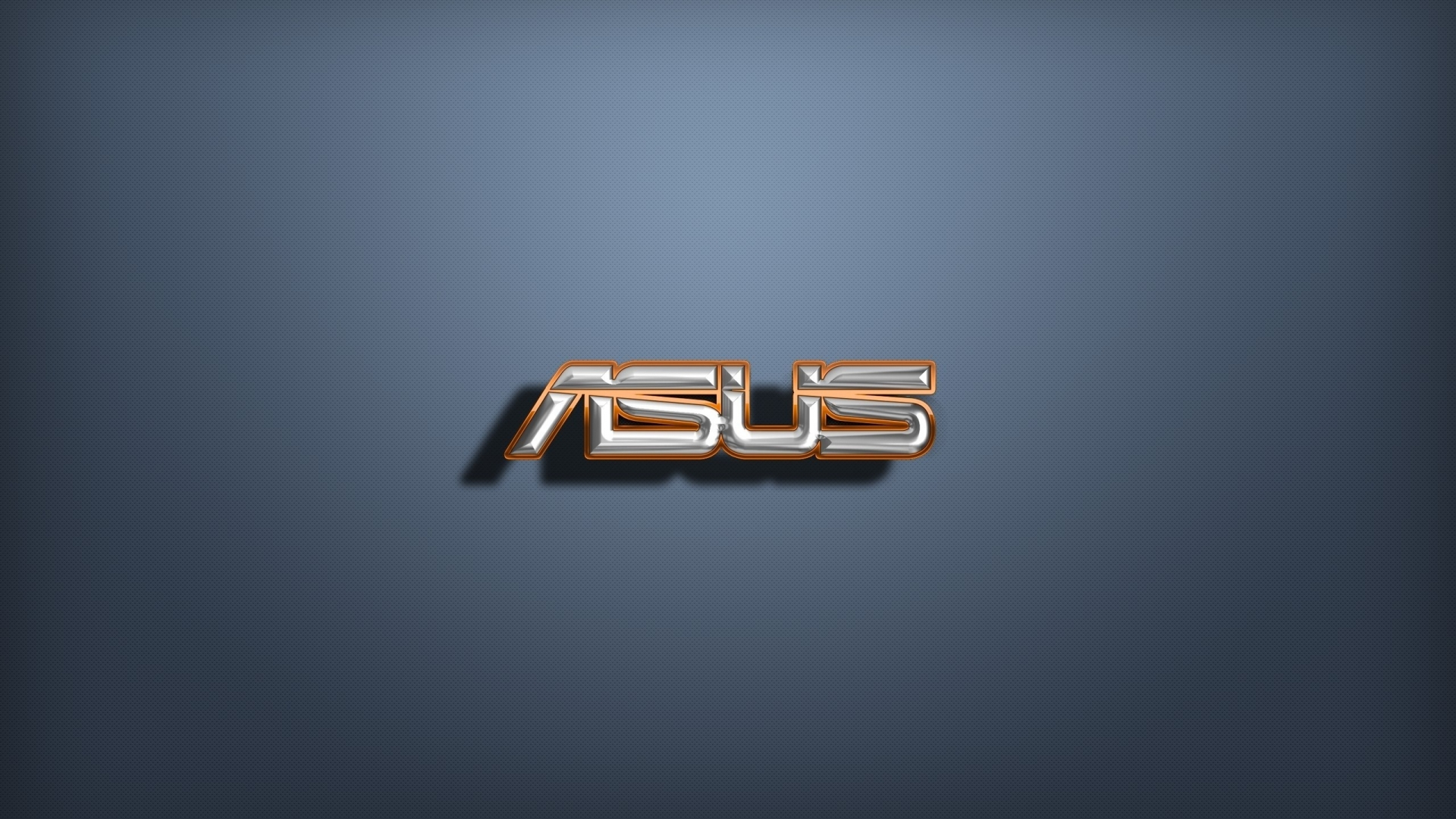 Golden And Silver 3d Asus Logo Wallpaper