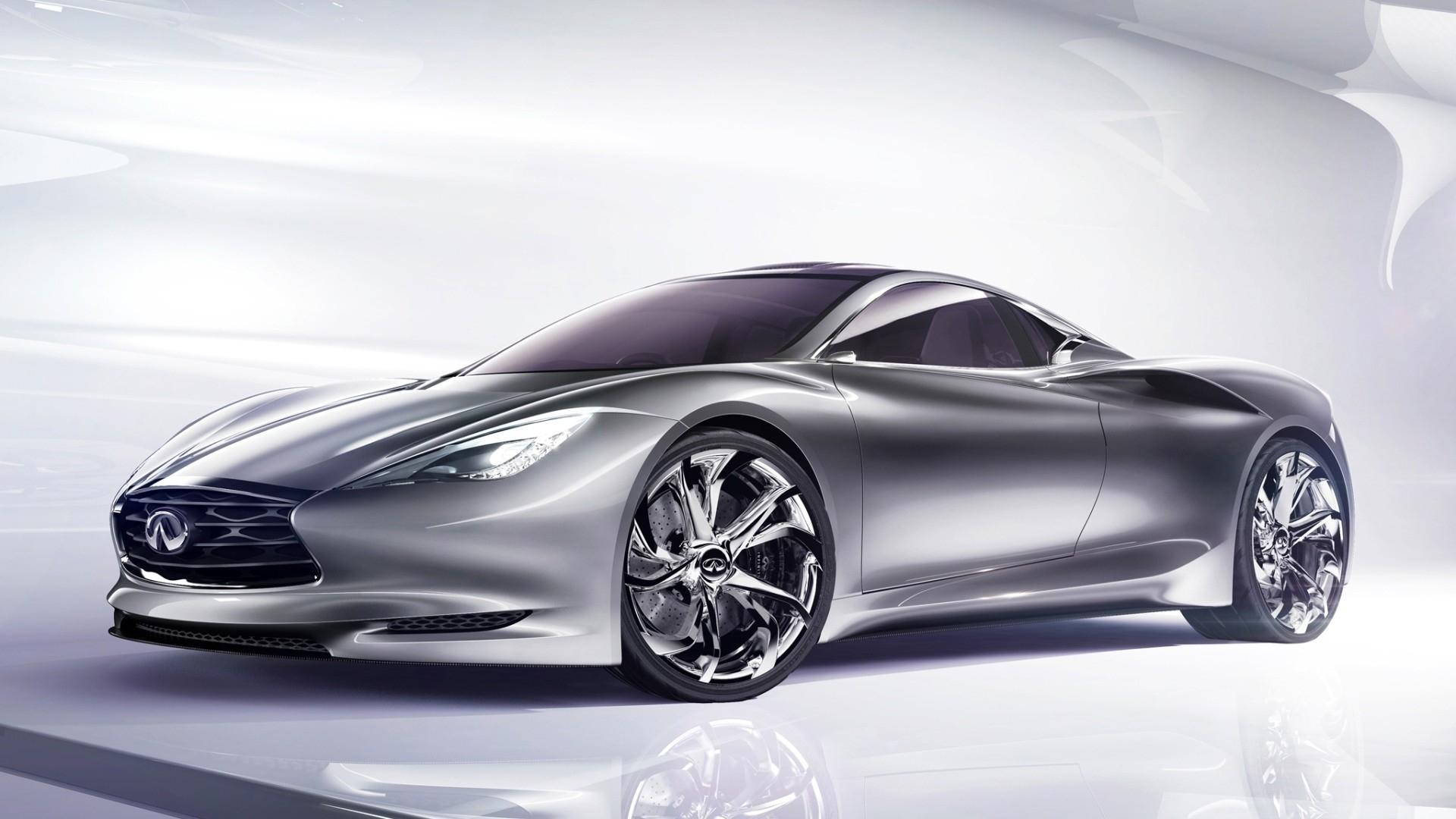 gray infiniti emerg e concept sport car. Black Bedroom Furniture Sets. Home Design Ideas