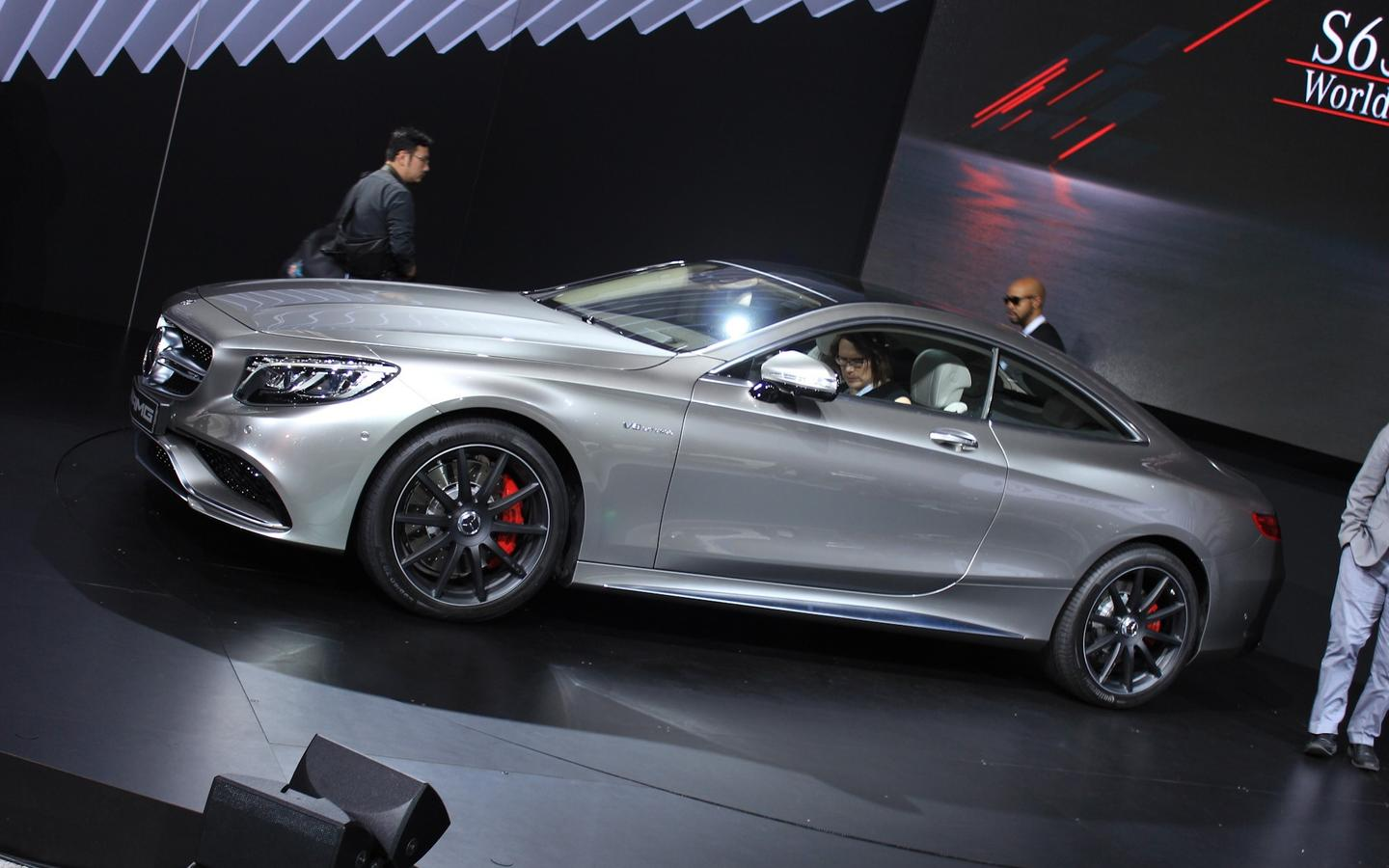 Gray Mercedes Benz S63 Amg Coupe 2015 Wallpaper Download
