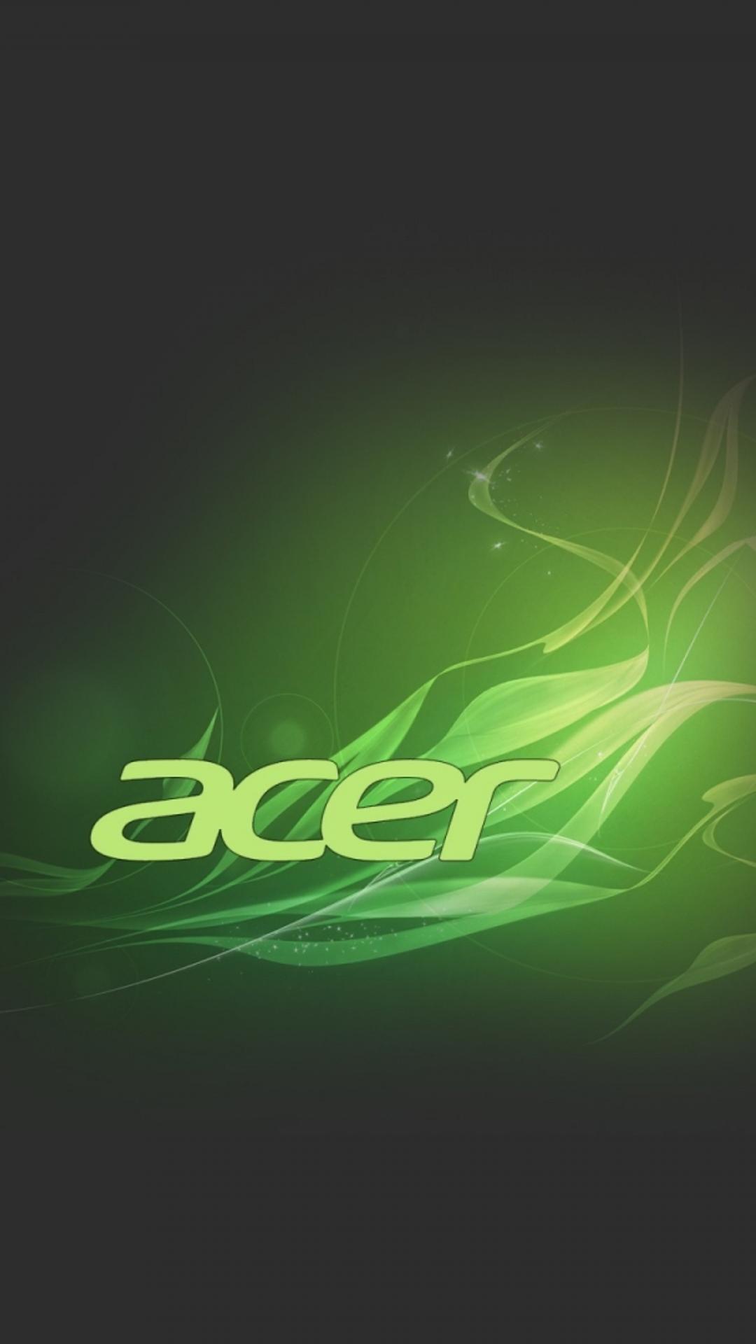 Green And Black Acer Logo Wallpaper Wallpaper Download