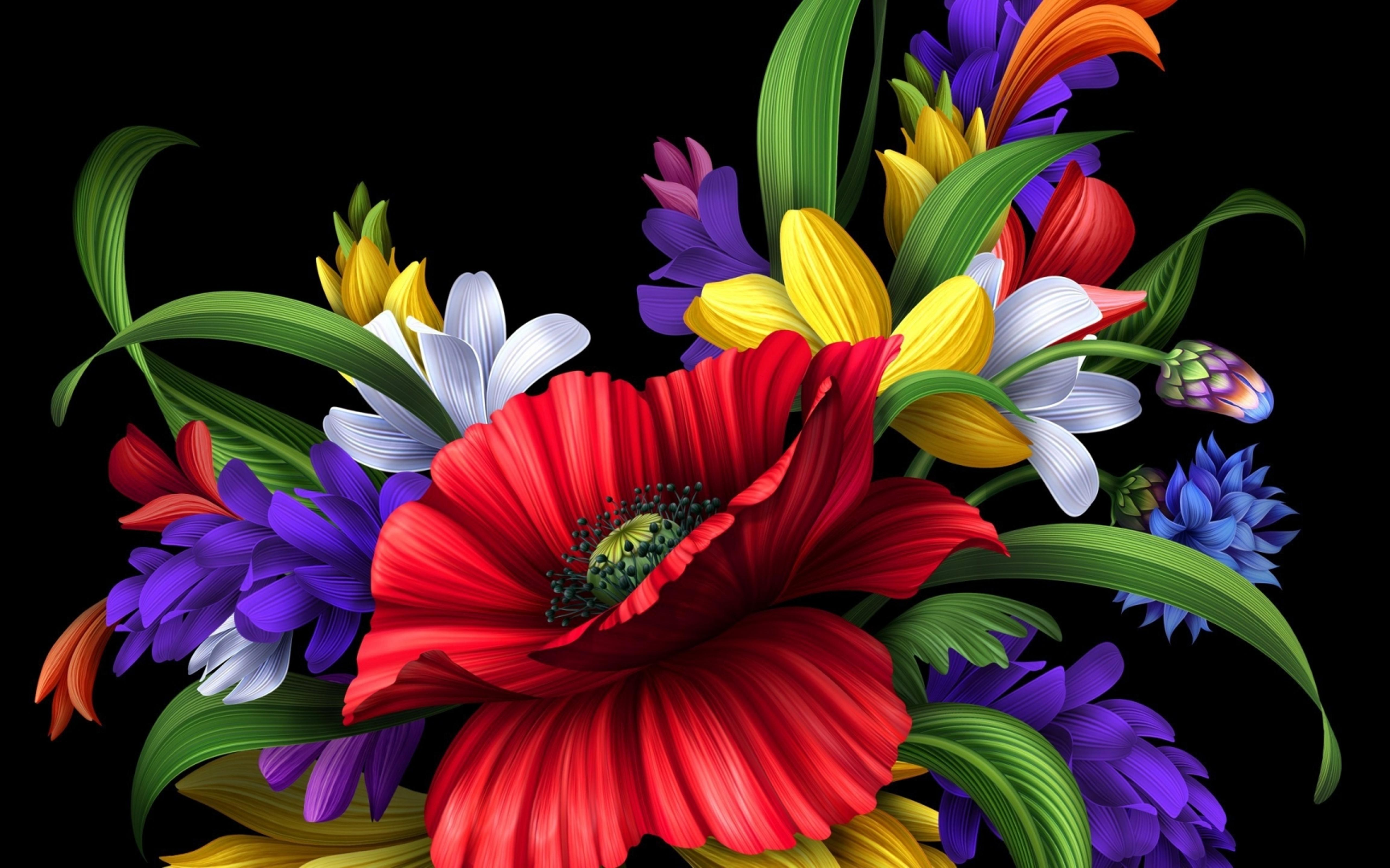 Colorful Flowers Hd Photos - Flowers Healthy