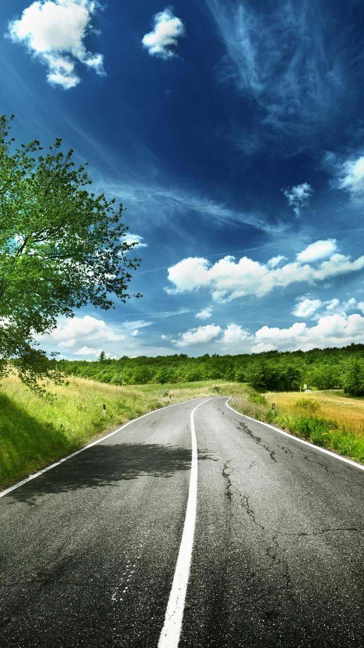 hd digital art wallpaper - road to the nature wallpaper download