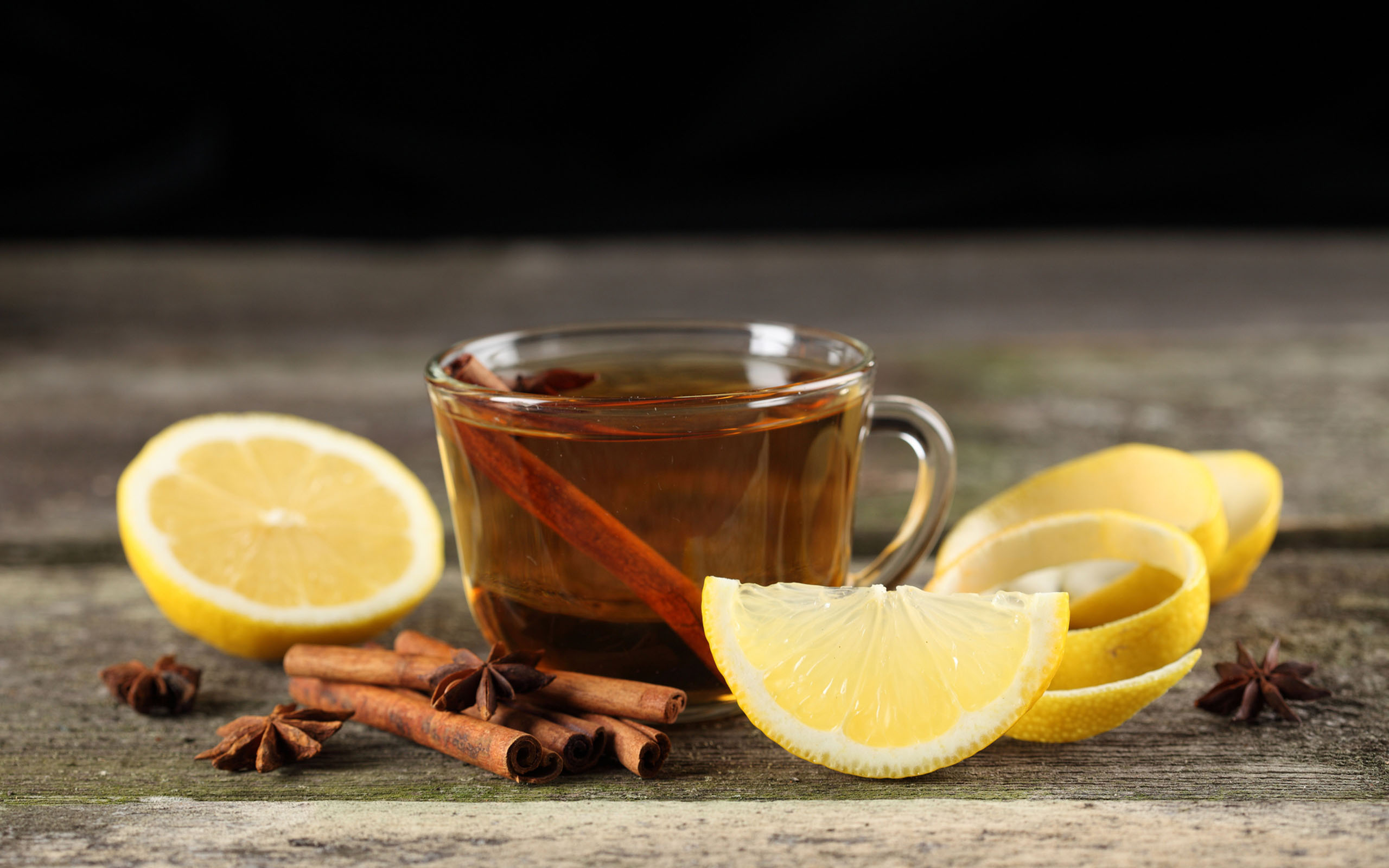 Beach Ford Service >> Hot tea with lemon and cinnamon - Winter drink