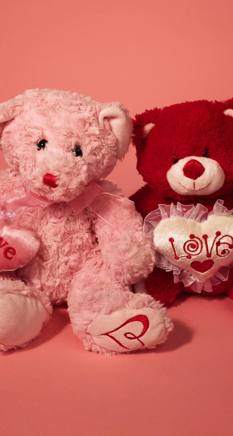 I Love You My Teddy Bear Happy Valentine S Day Wallpaper Download