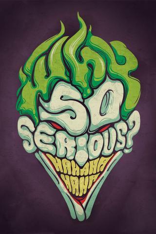 Download Wallpaper 320x480 Joker Why So Serious