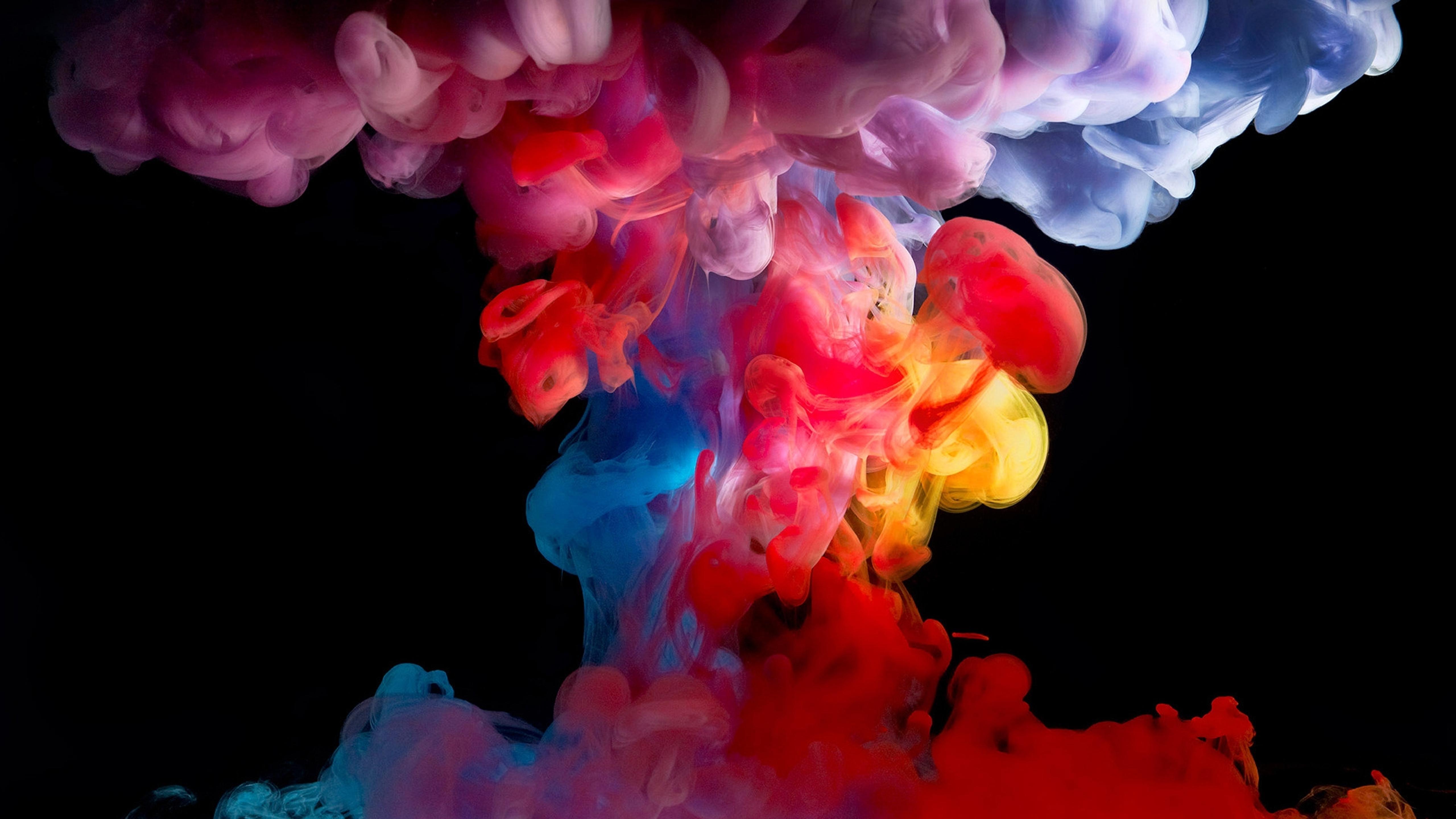 Many Colorful Smoke
