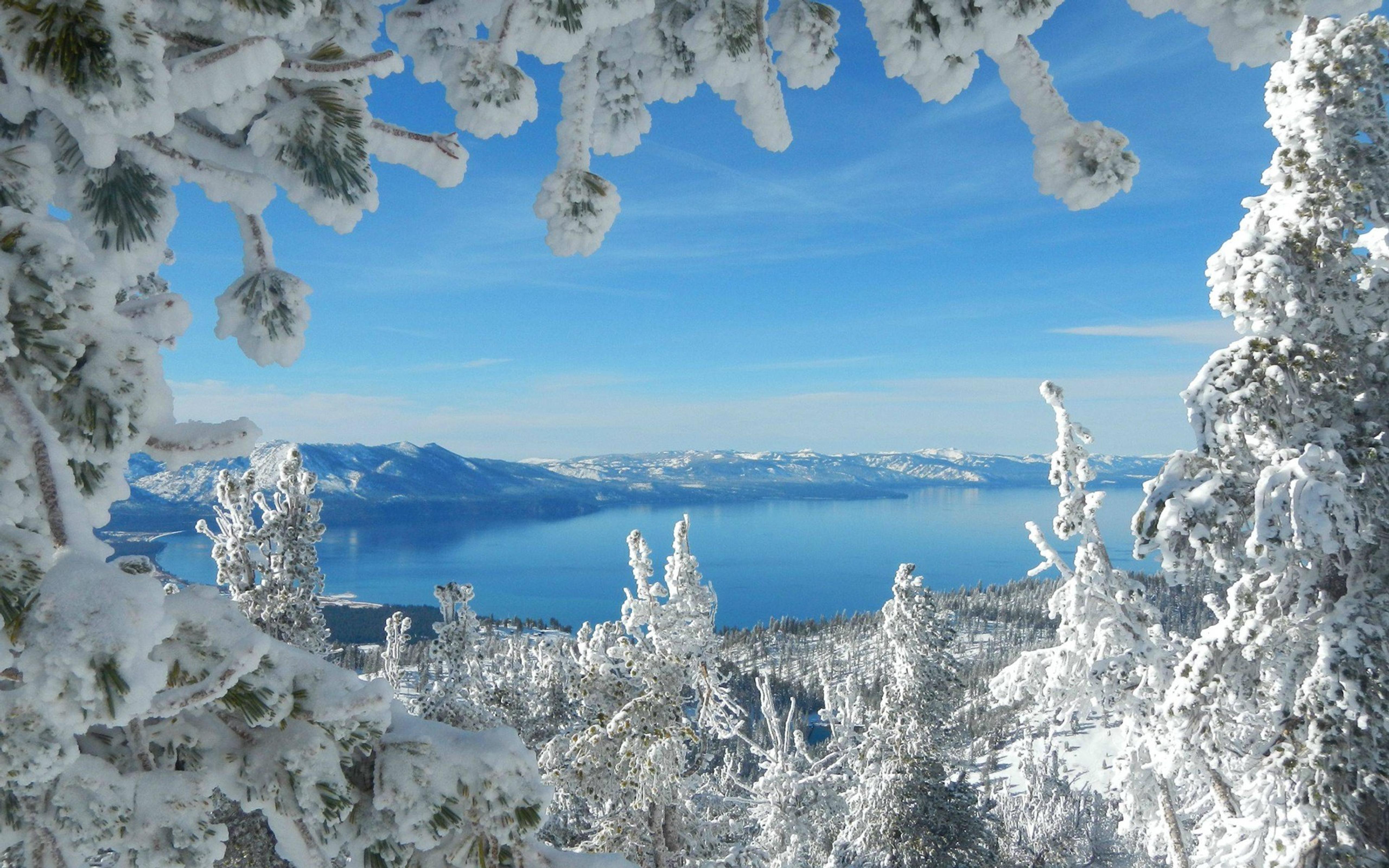Фото рамки зимний мороз 3