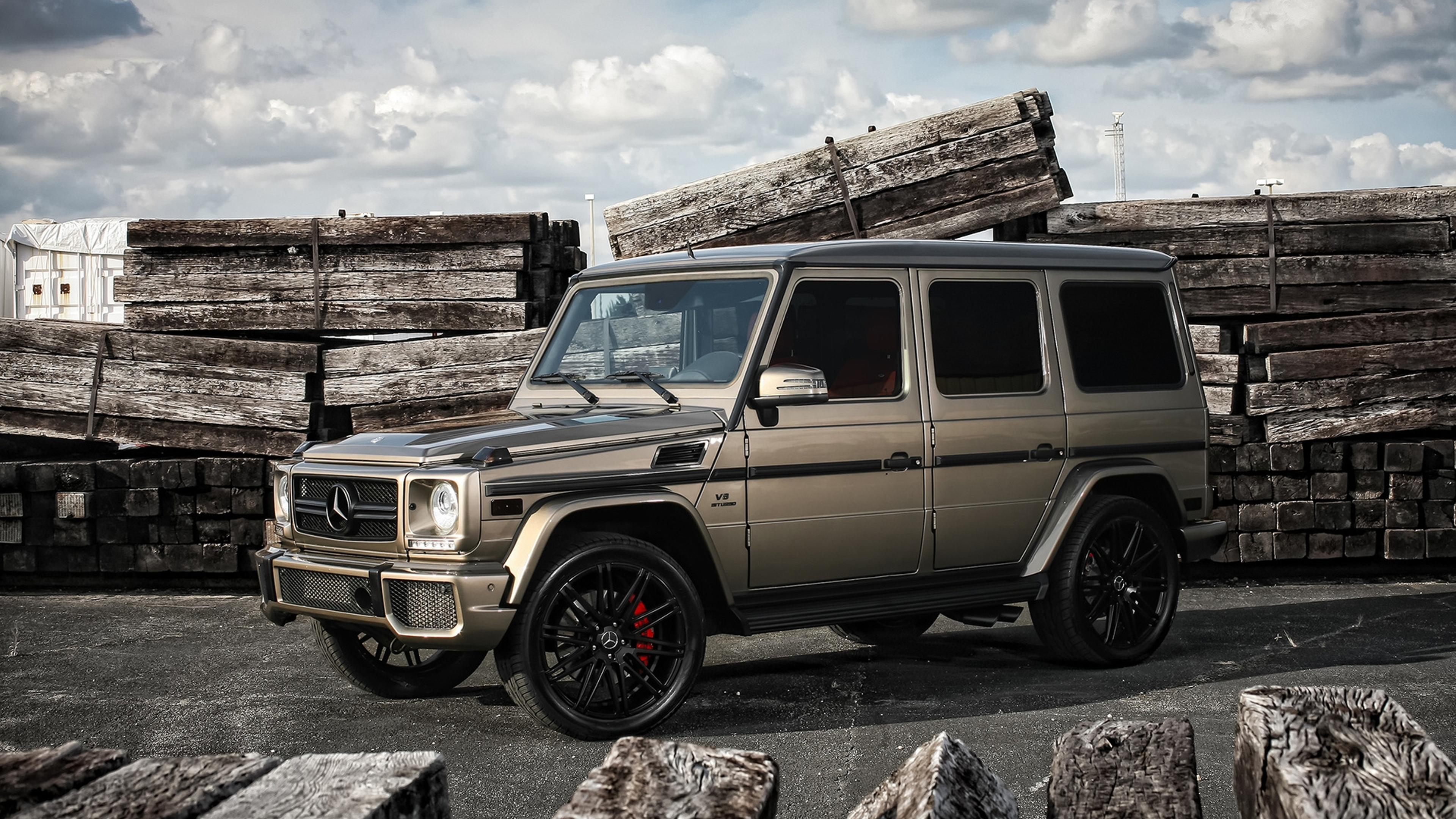 Mercedes Benz G55 Amg Hd Wallpaper Download 3840x2160