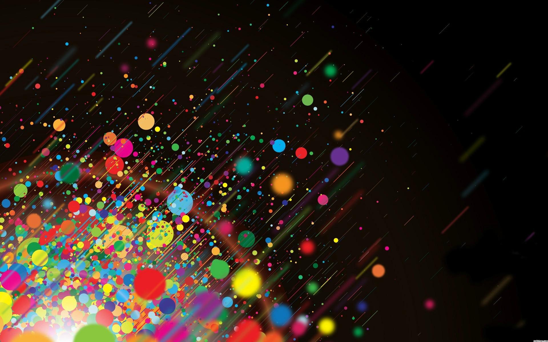 Multi Color Splash Wallpaper Download 1920x1200