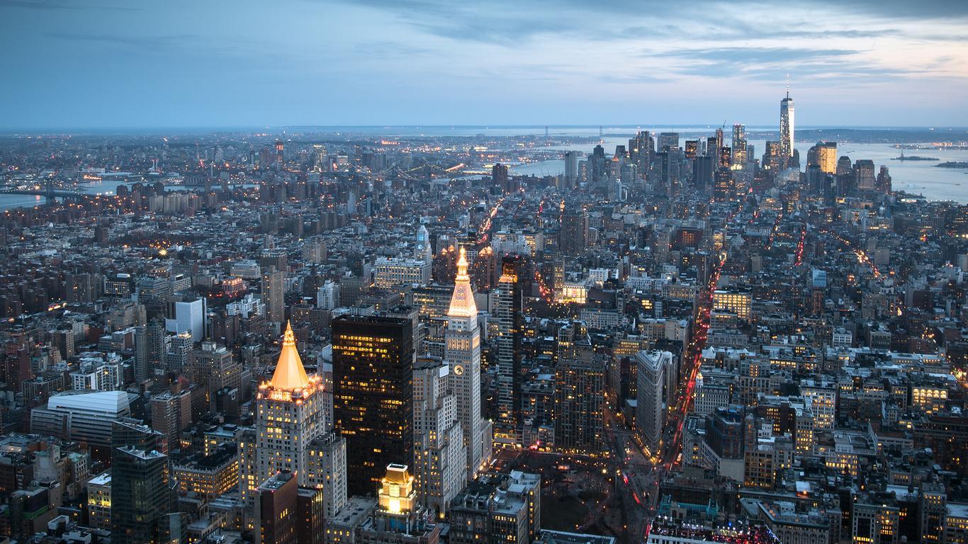 Night In The New York City