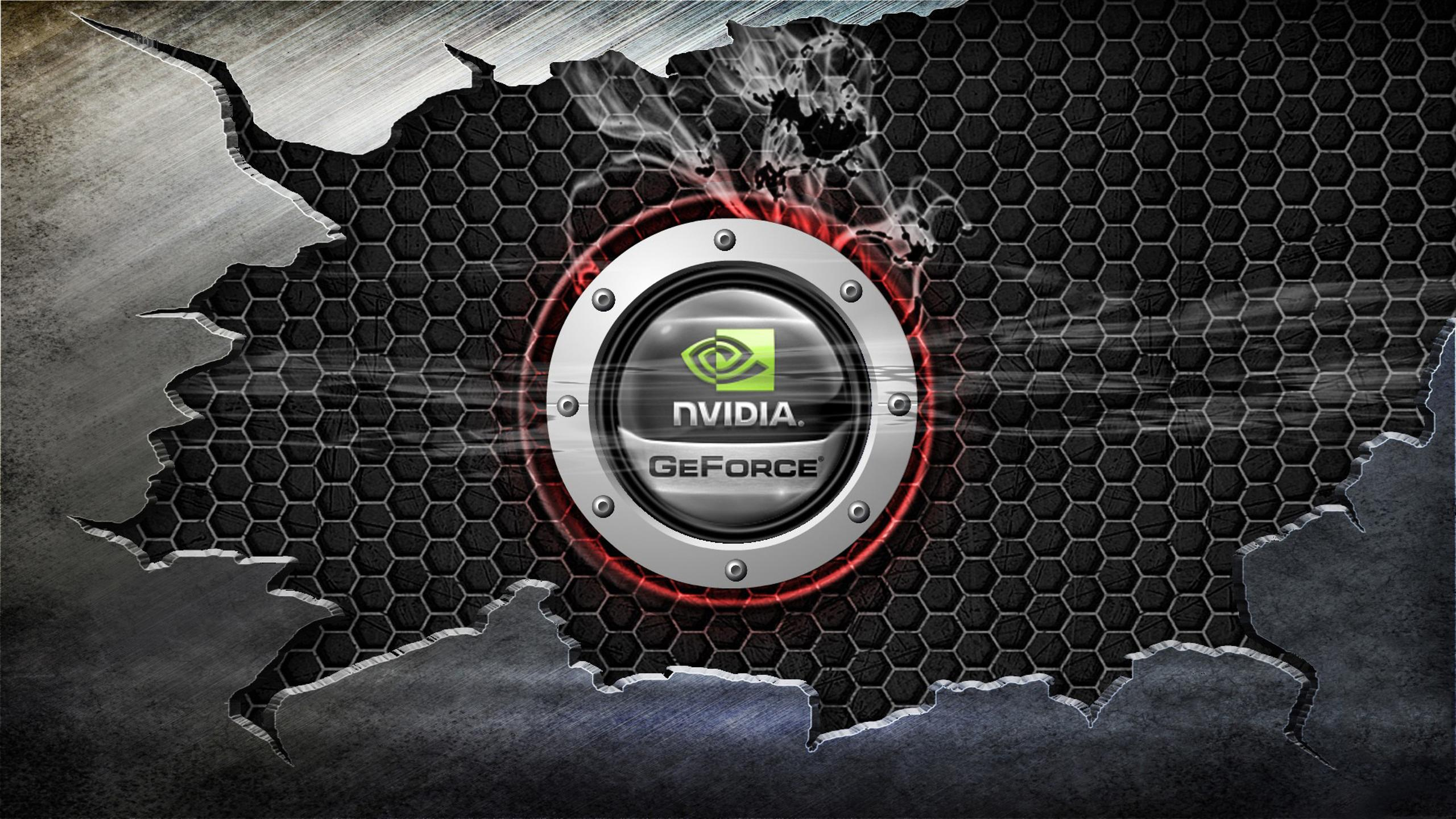 Nvidia Geforce Logo Hd Wallpaper Wallpaper Download