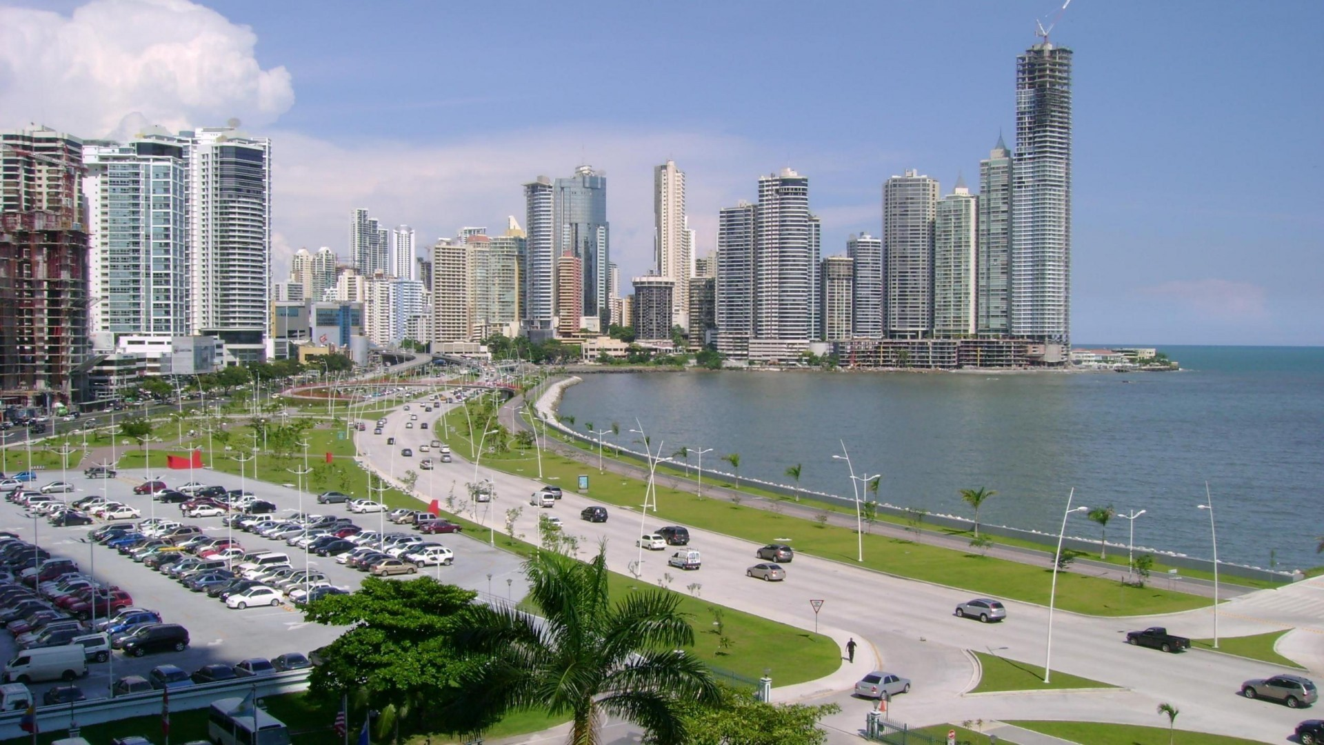 Panama City Central America Wallpaper