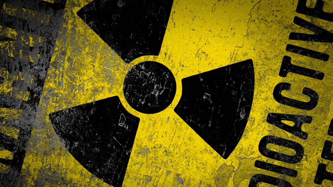 Download Wallpaper 1280x720 Radioactive Logo